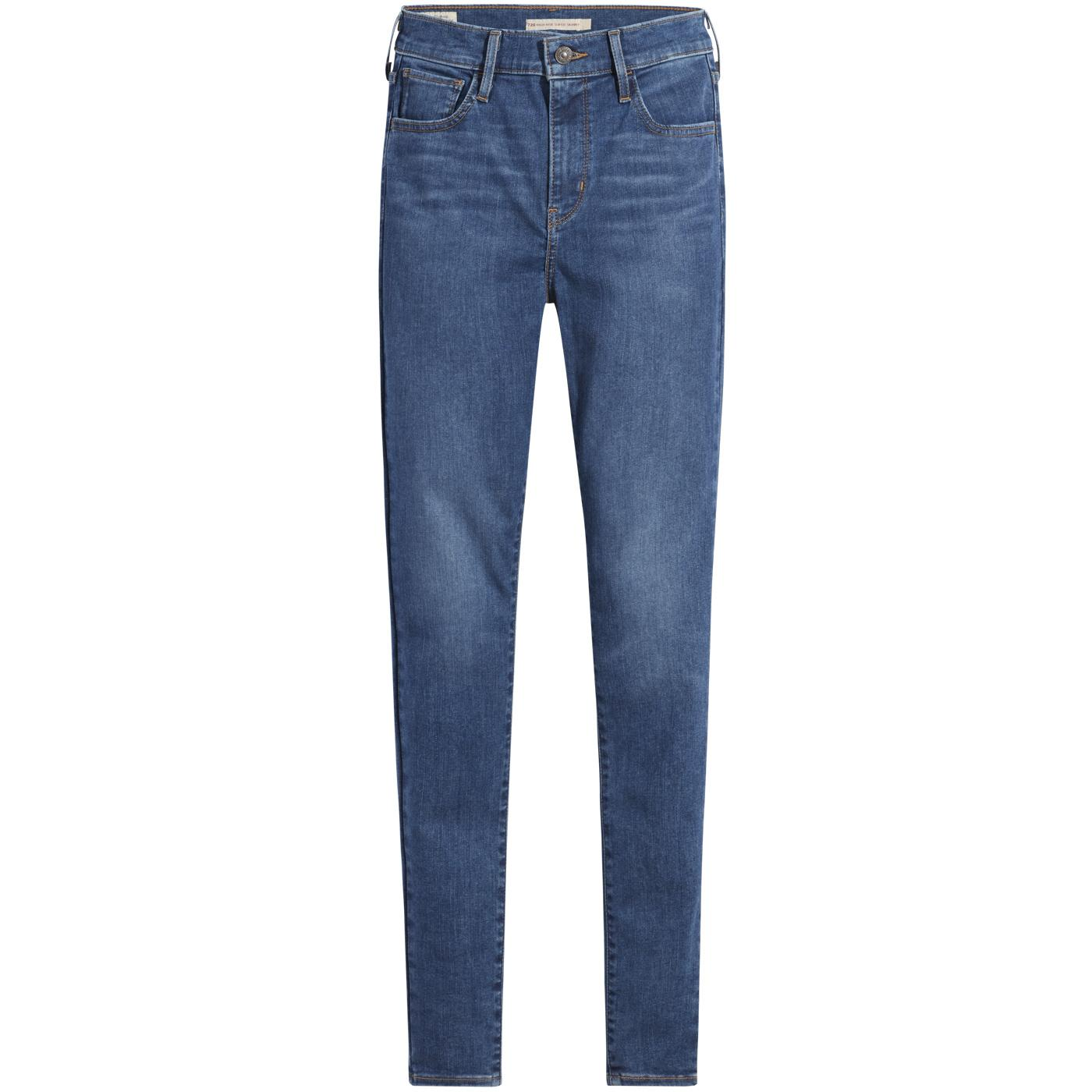 LEVI'S 720 High-Rise Super Skinny Jeans (EC)