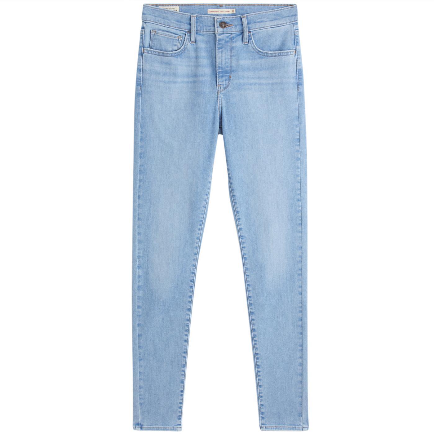 LEVI'S 720 High-Rise Super Skinny Jeans (Eclipse)