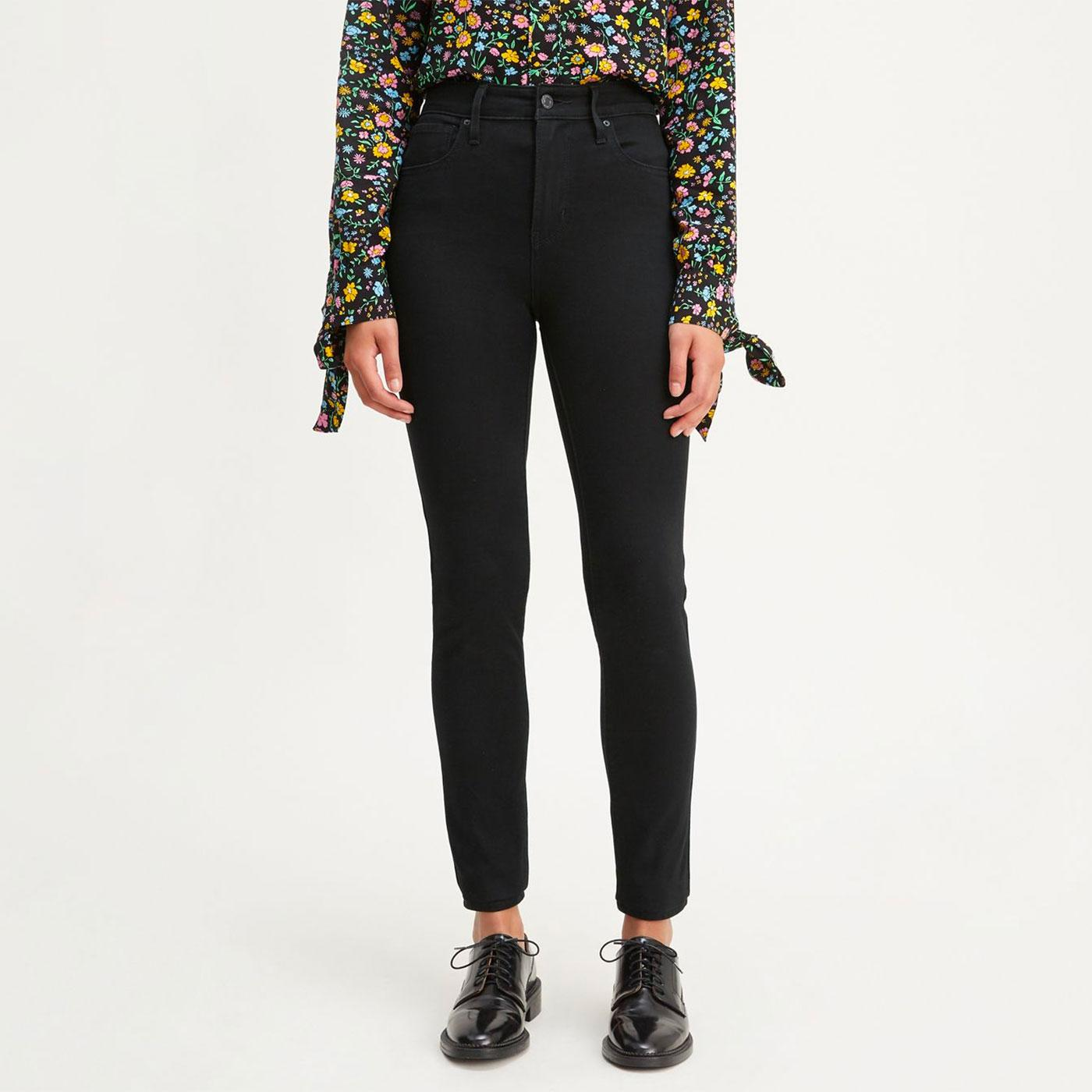 LEVI'S 721 High Rise Skinny Jeans - Long Shot