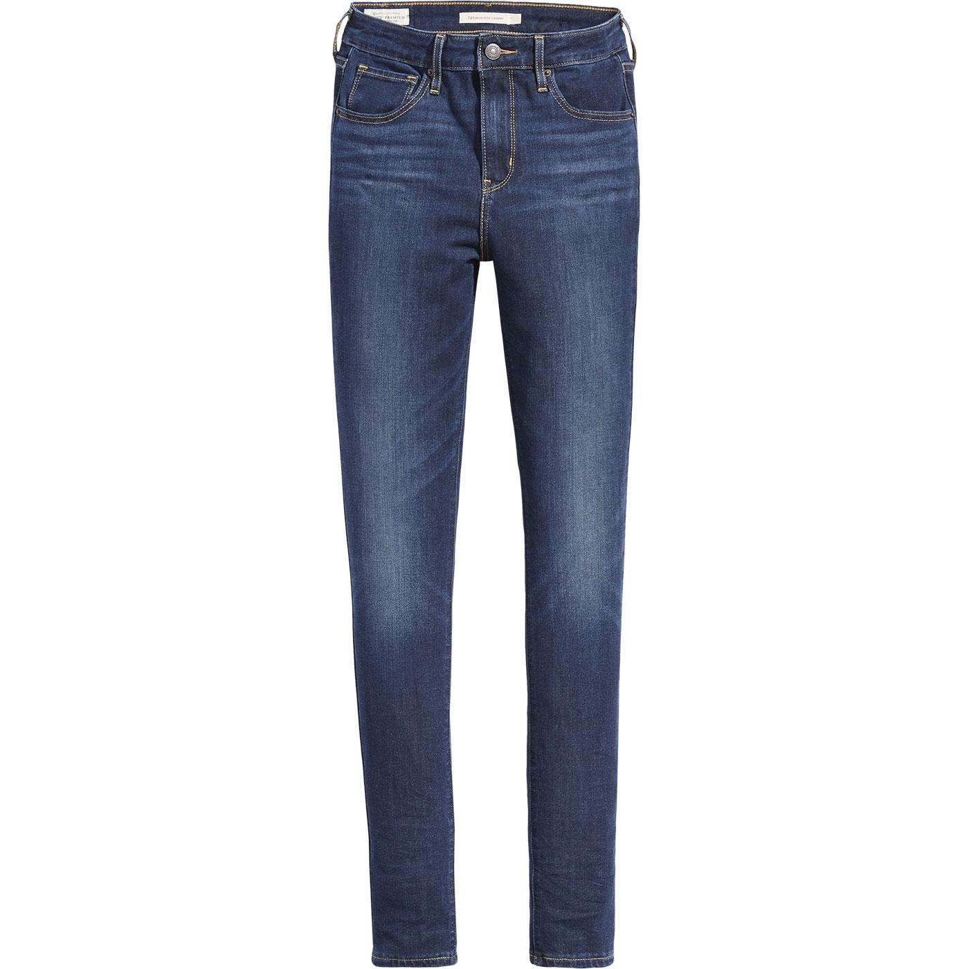 LEVI'S 721 High Rise Skinny Jeans - Smooth It Out