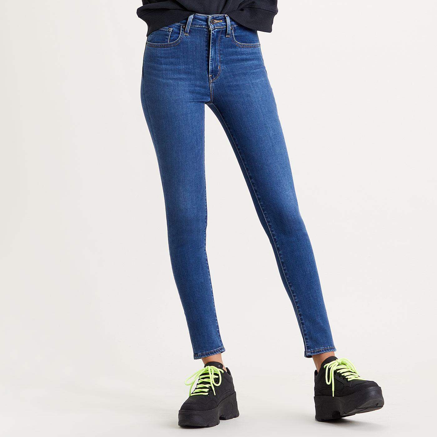 LEVI'S 721 High Rise Skinny Jeans - Bogota Fun