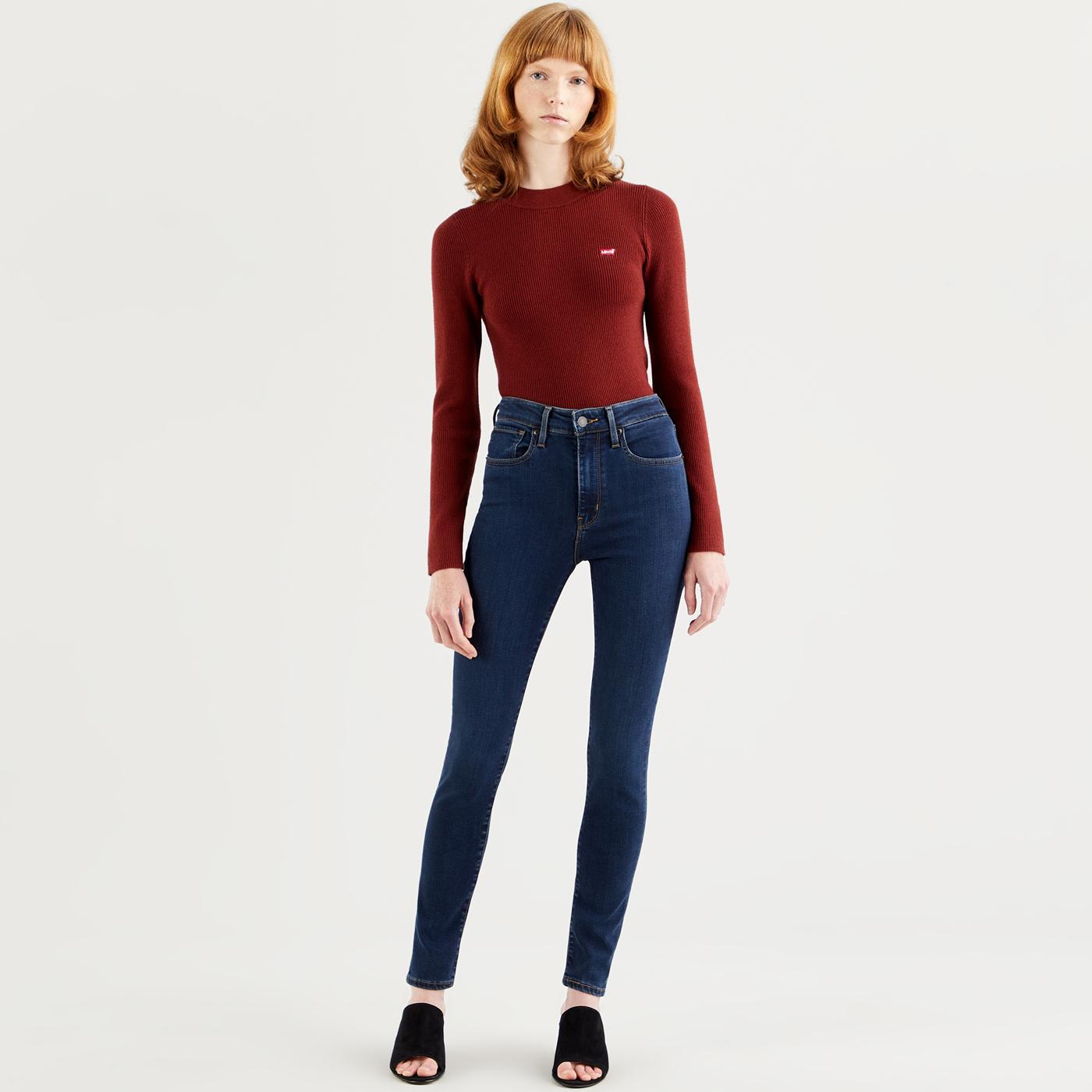 LEVI'S 721 High Rise Skinny Jeans (Santiago Night)
