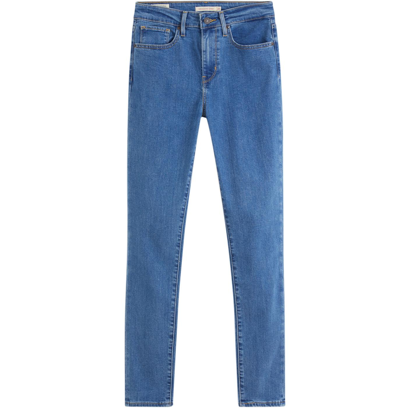 LEVI'S 721 High Rise Skinny Jeans (Bogota Heart)