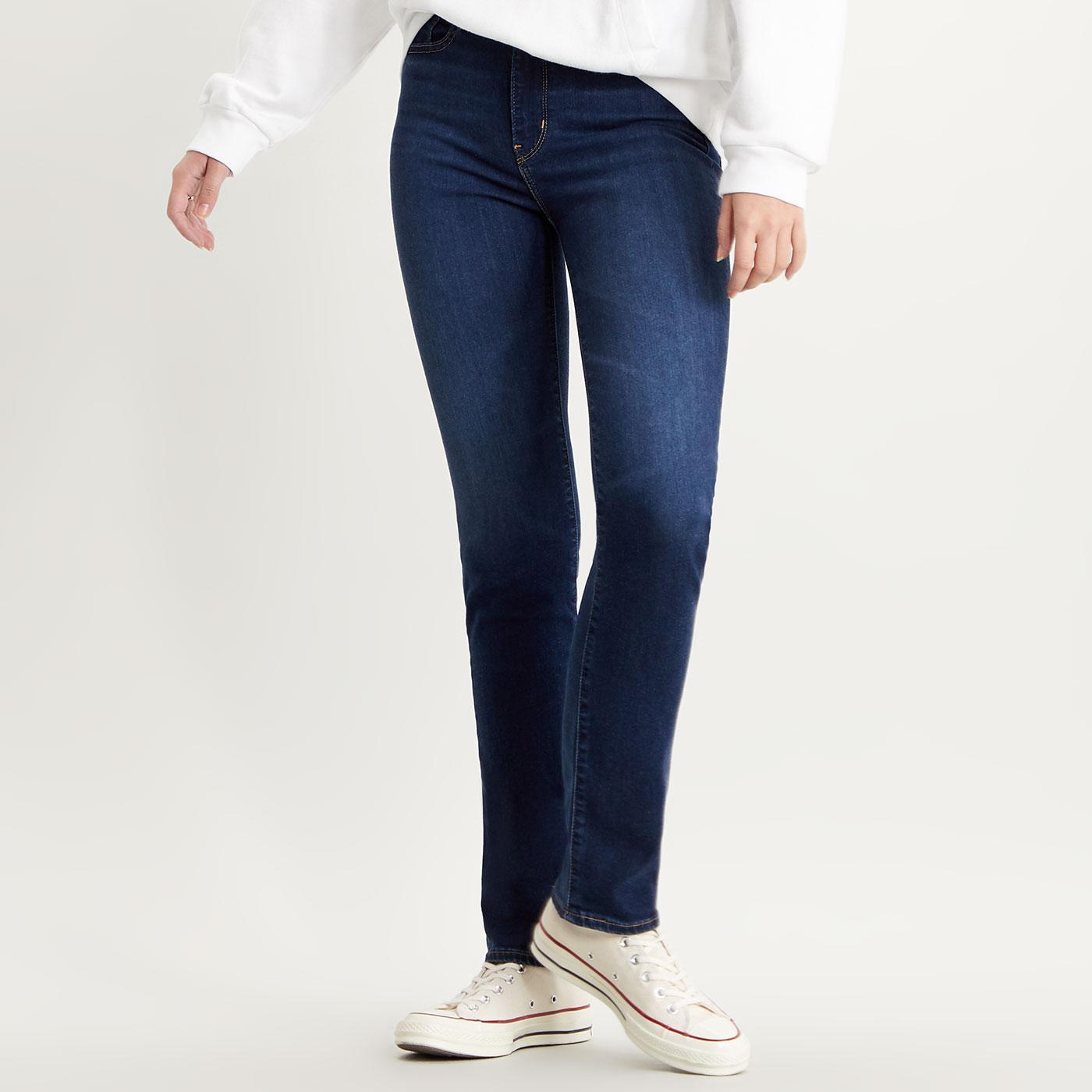 LEVI'S 724 High Rise Straight Jeans - Bogota Calm