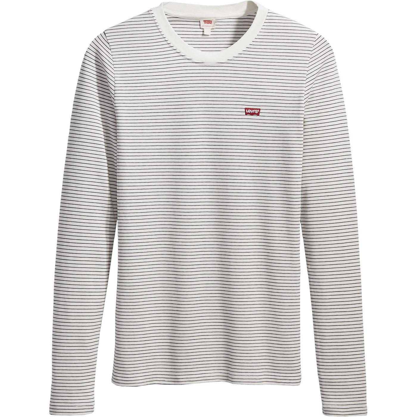 LEVI'S Baby Agnes Breton Stripe 60s T-Shirt CLOUD