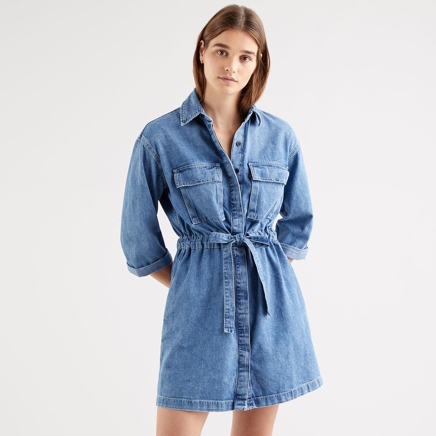 Ainsley LEVI'S Denim Utility Dress (Freaky Friday)