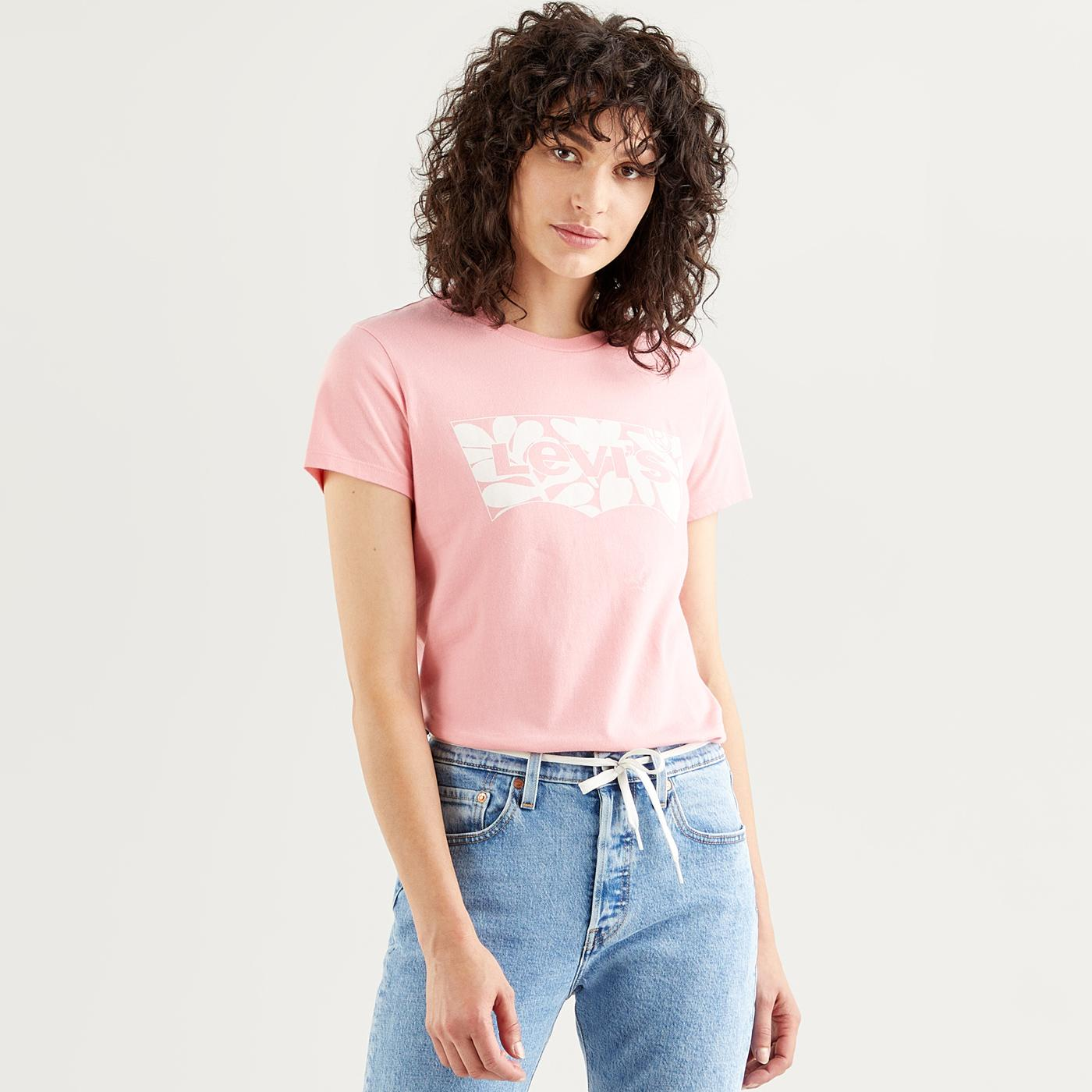 The Perfect Tee LEVI'S Floral Fill Batwing Tee AP
