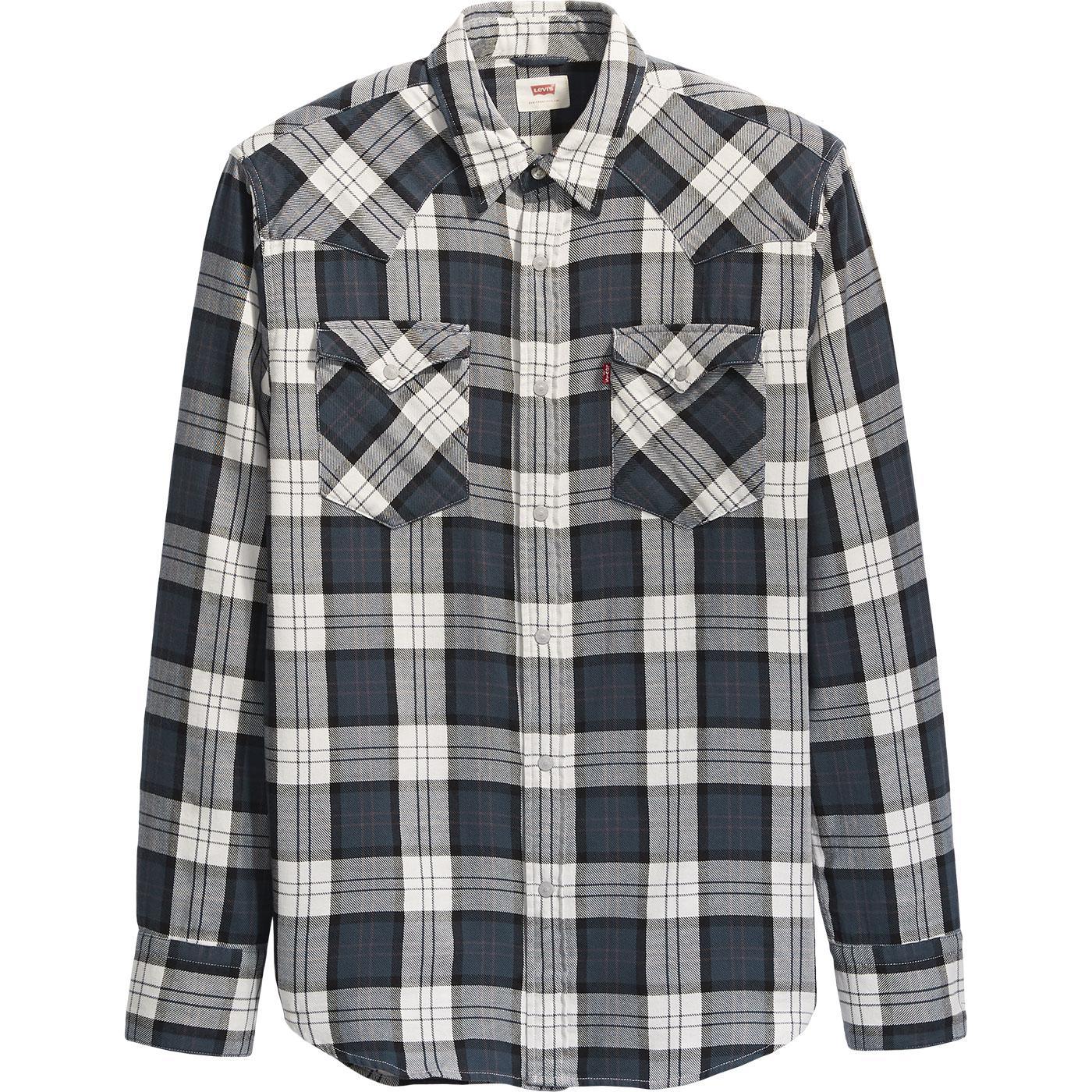 LEVI'S Barstow Retro Mod Check Western Shirt (ACD)