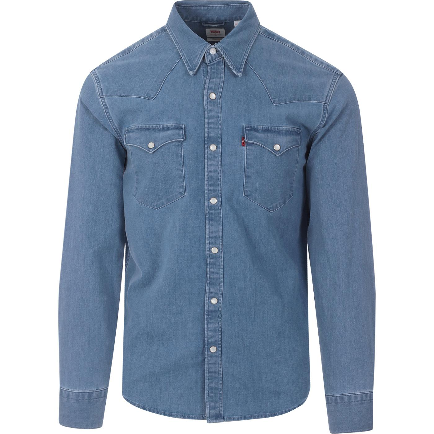Barstow LEVI'S Western Slim Shirt (Light Wash)