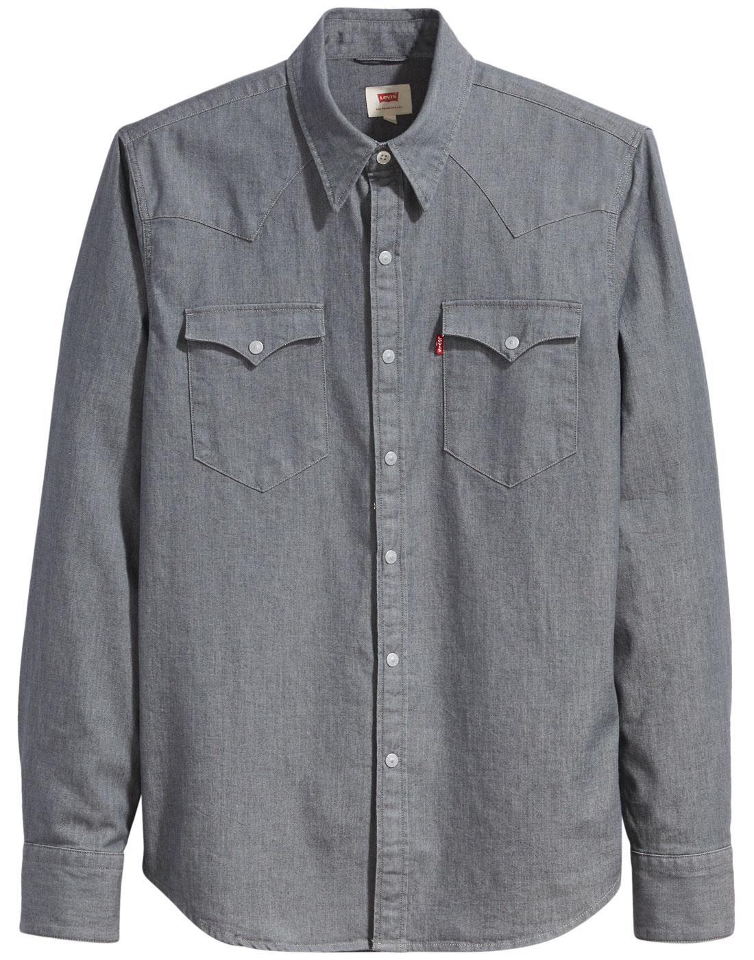 LEVI'S Barstow Retro 70s Denim Western Shirt (GSR)
