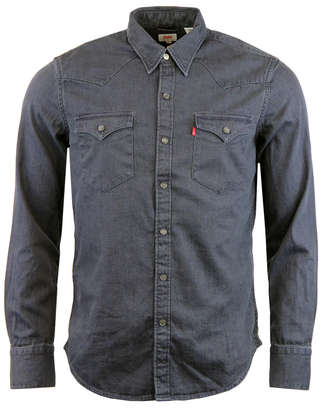 Barstow LEVI'S® Retro 70s Denim Western Shirt Ink