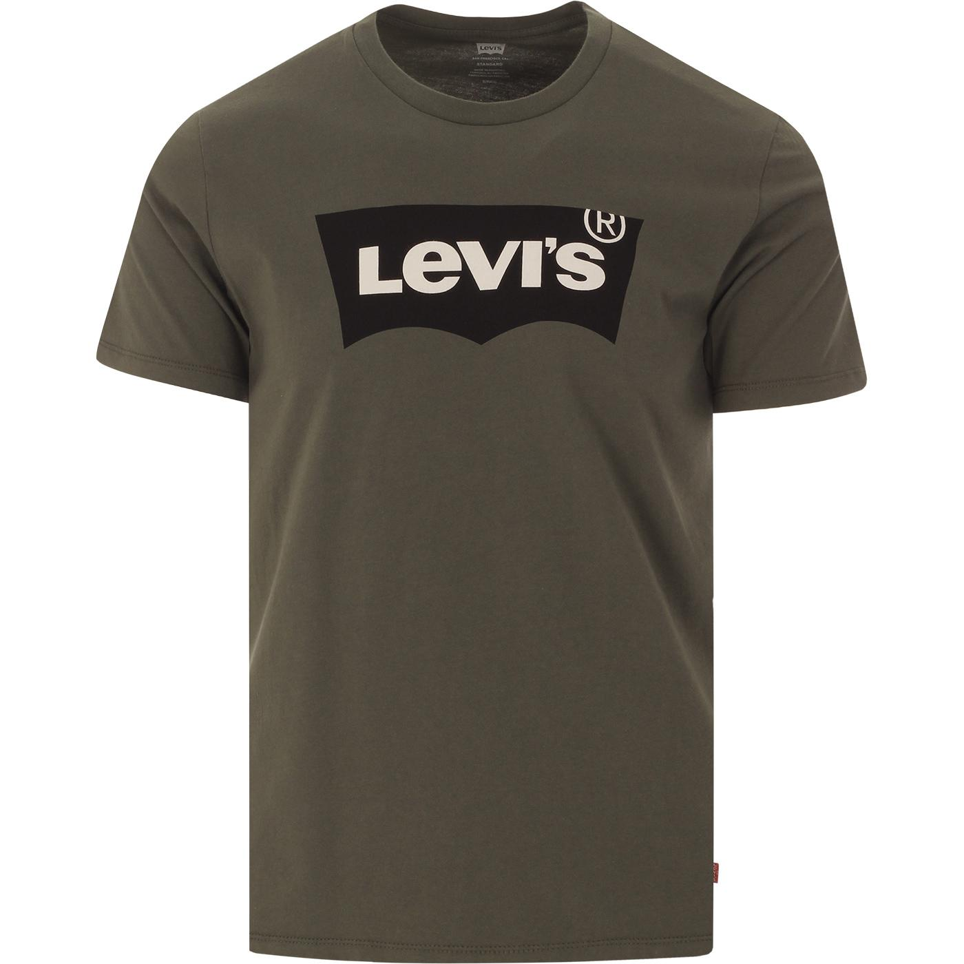 LEVI'S Men's Retro Housemark Batwing Tee (DG)
