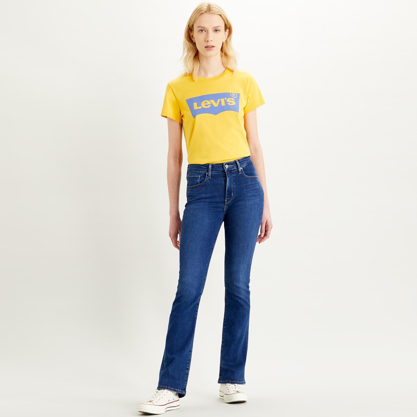 LEVI'S 725 High Waist Bootcut Jeans BOGOTA TRICKS