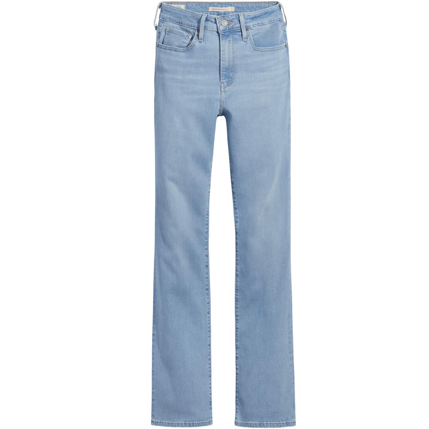 LEVI'S 725 High Waist Bootcut Jeans (Rio Fate)