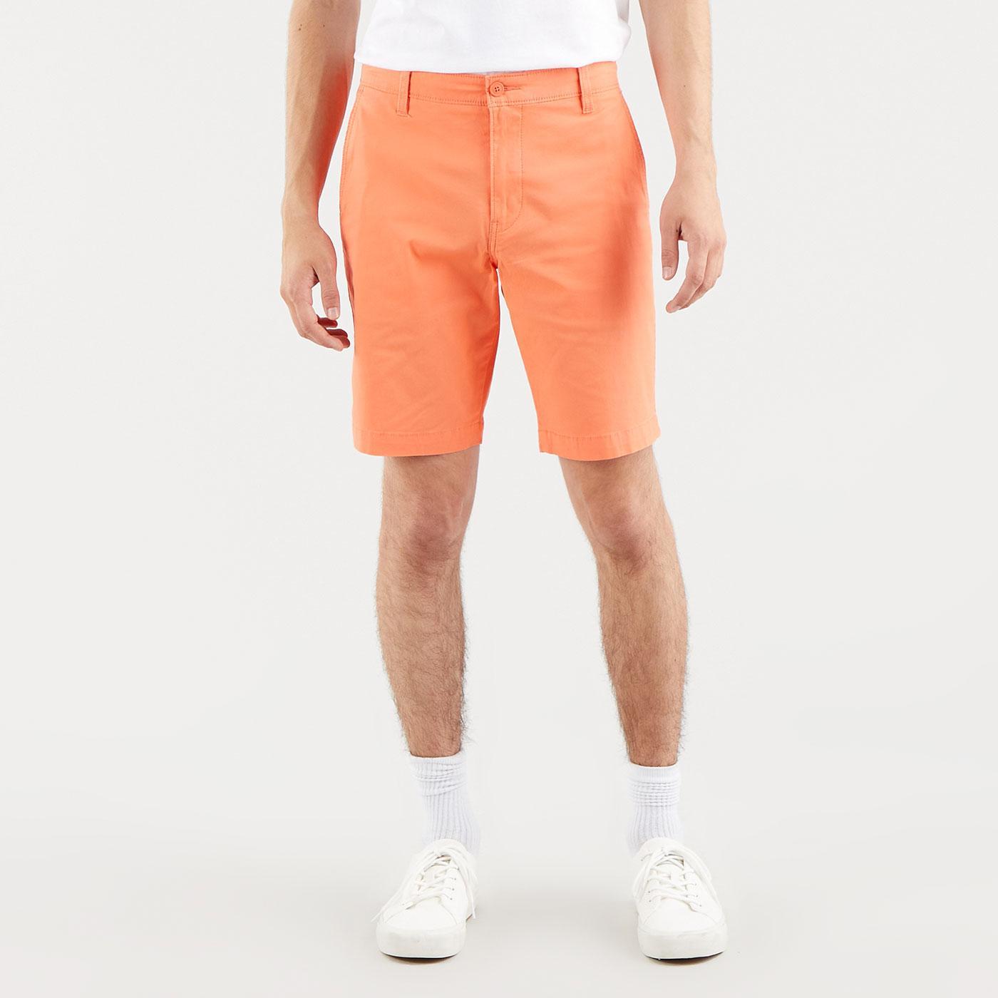 LEVI'S XX Regular Twill Chino Shorts CORAL QUARTZ