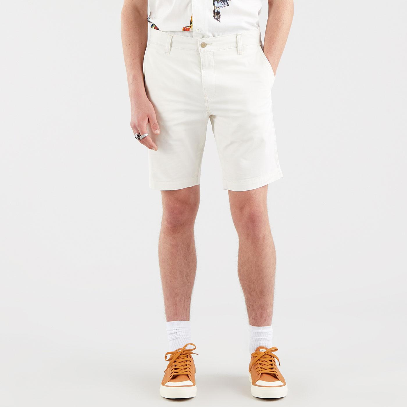 LEVI'S XX Regular Fit Twill Chino Shorts (Tofu)