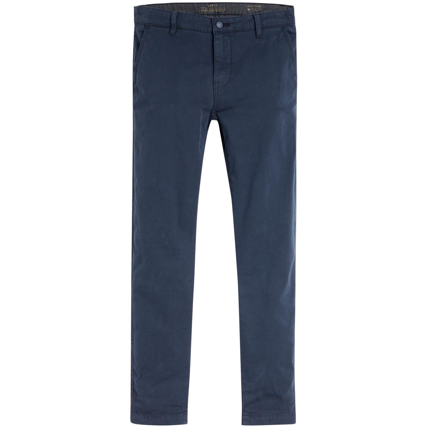 LEVI'S Slim Taper XX Chino II Trousers BALTIC NAVY