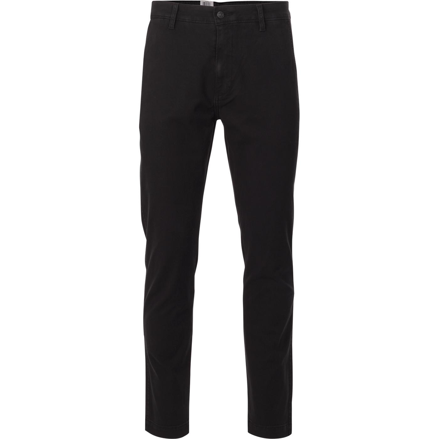 LEVI'S Standard Taper XX Chino Trousers (Black)