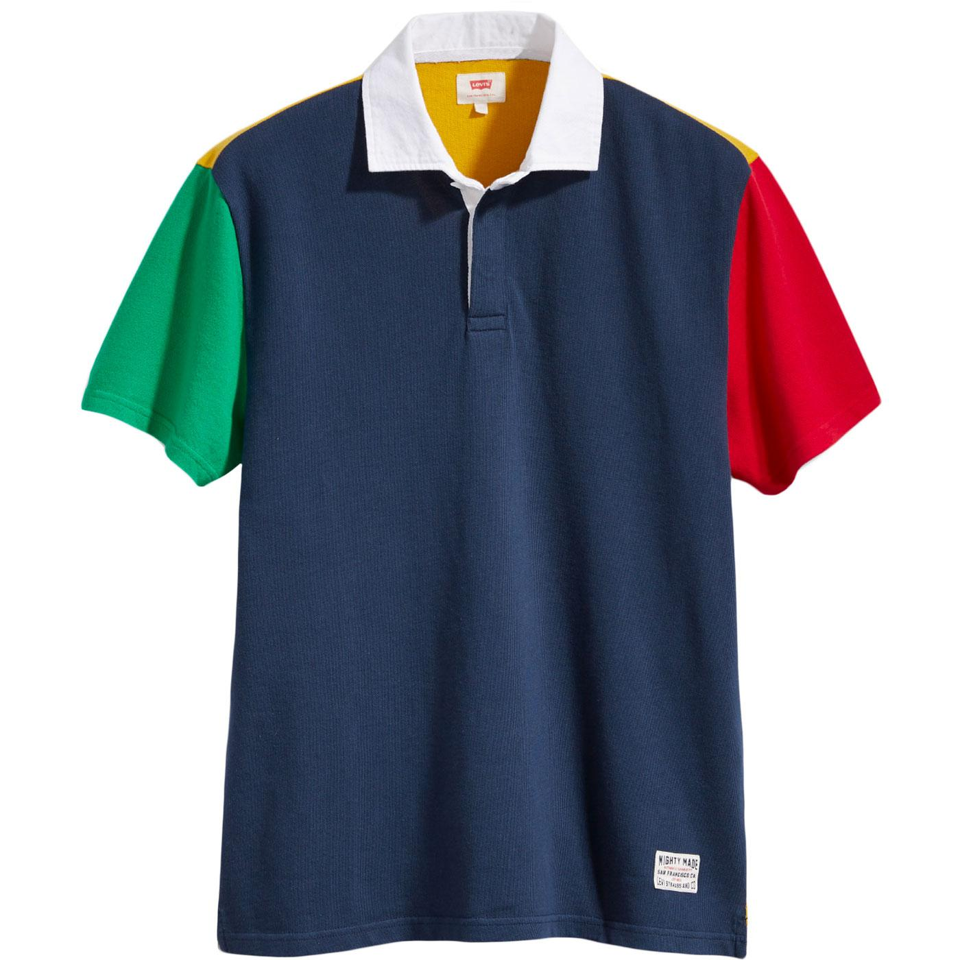 Mighty Made™ LEVI'S Men's Retro 90s Rugby Polo