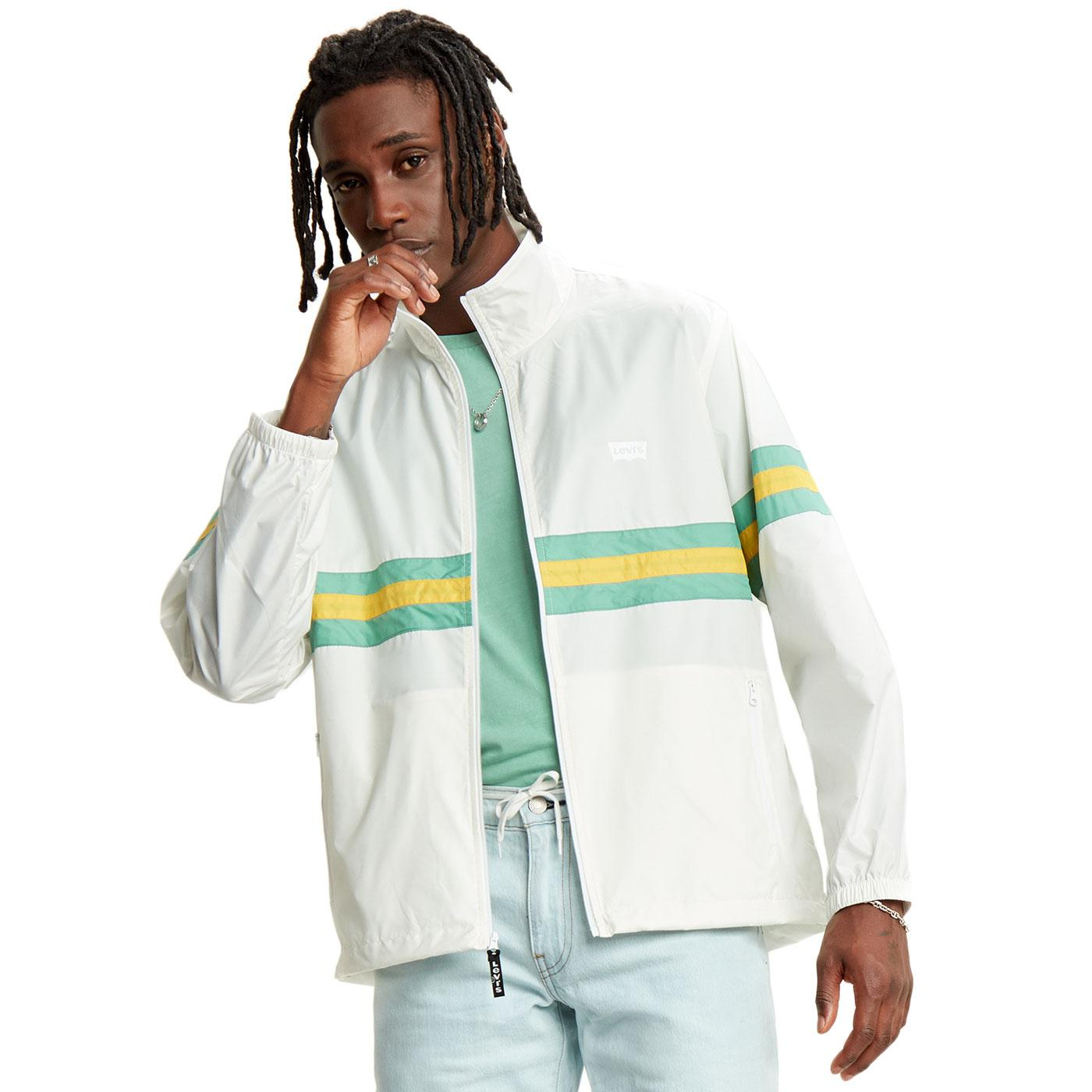 LEVI'S Retro 90s Colour Block Windbreaker Jacket