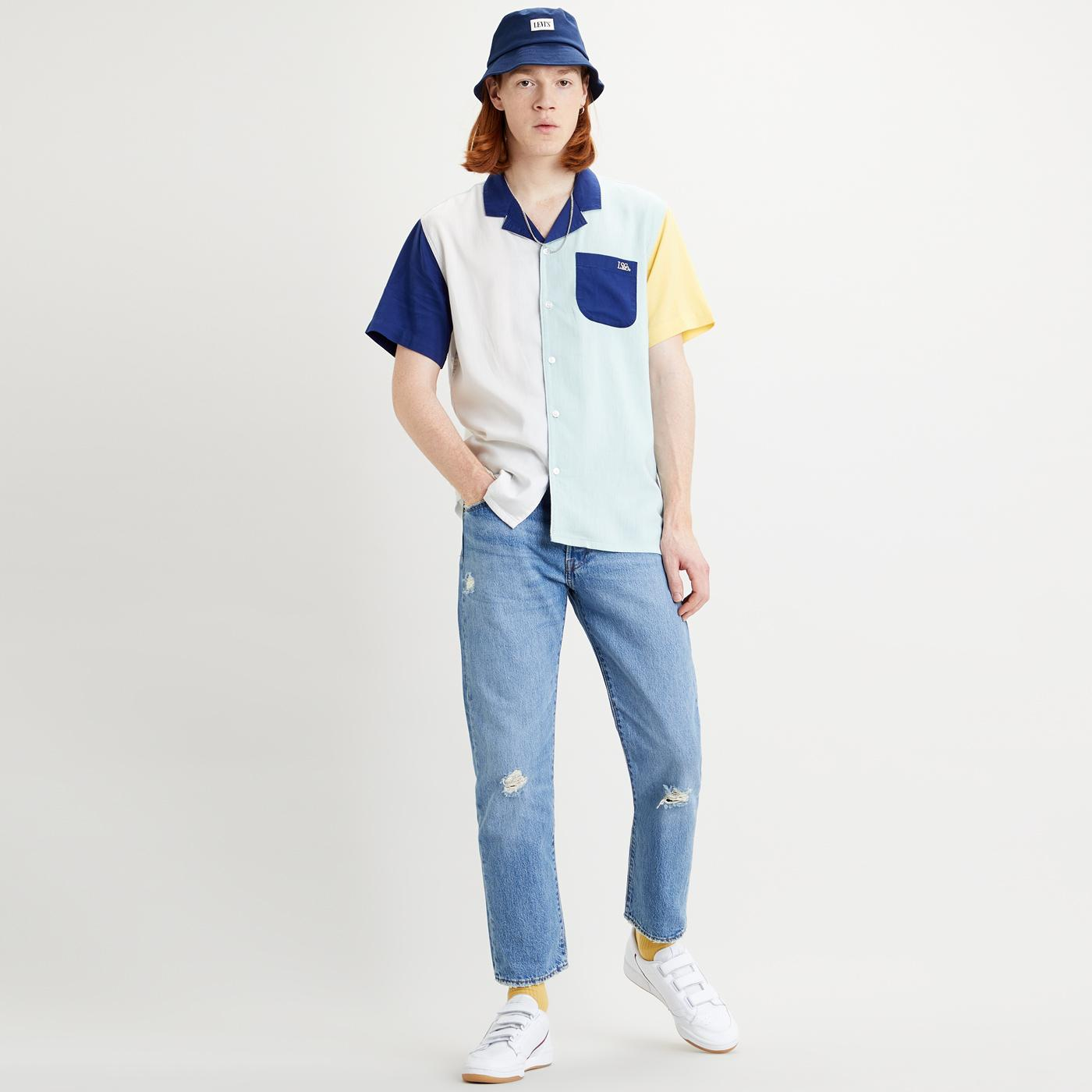 LEVI'S Cubano Retro Resort Collar Bowling Shirt HG
