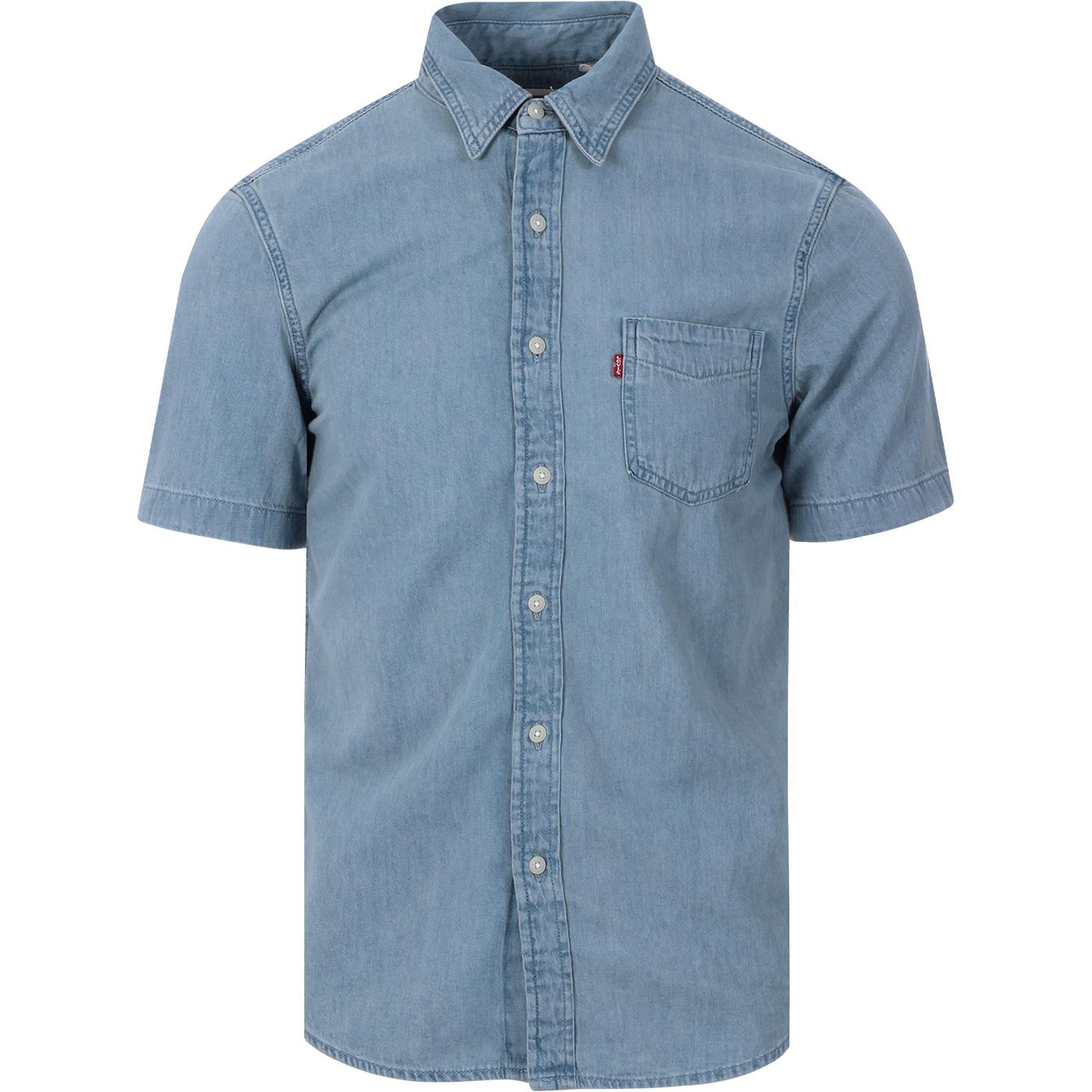 LEVI'S SS Classic 1 Pocket Denim Shirt (RCS)