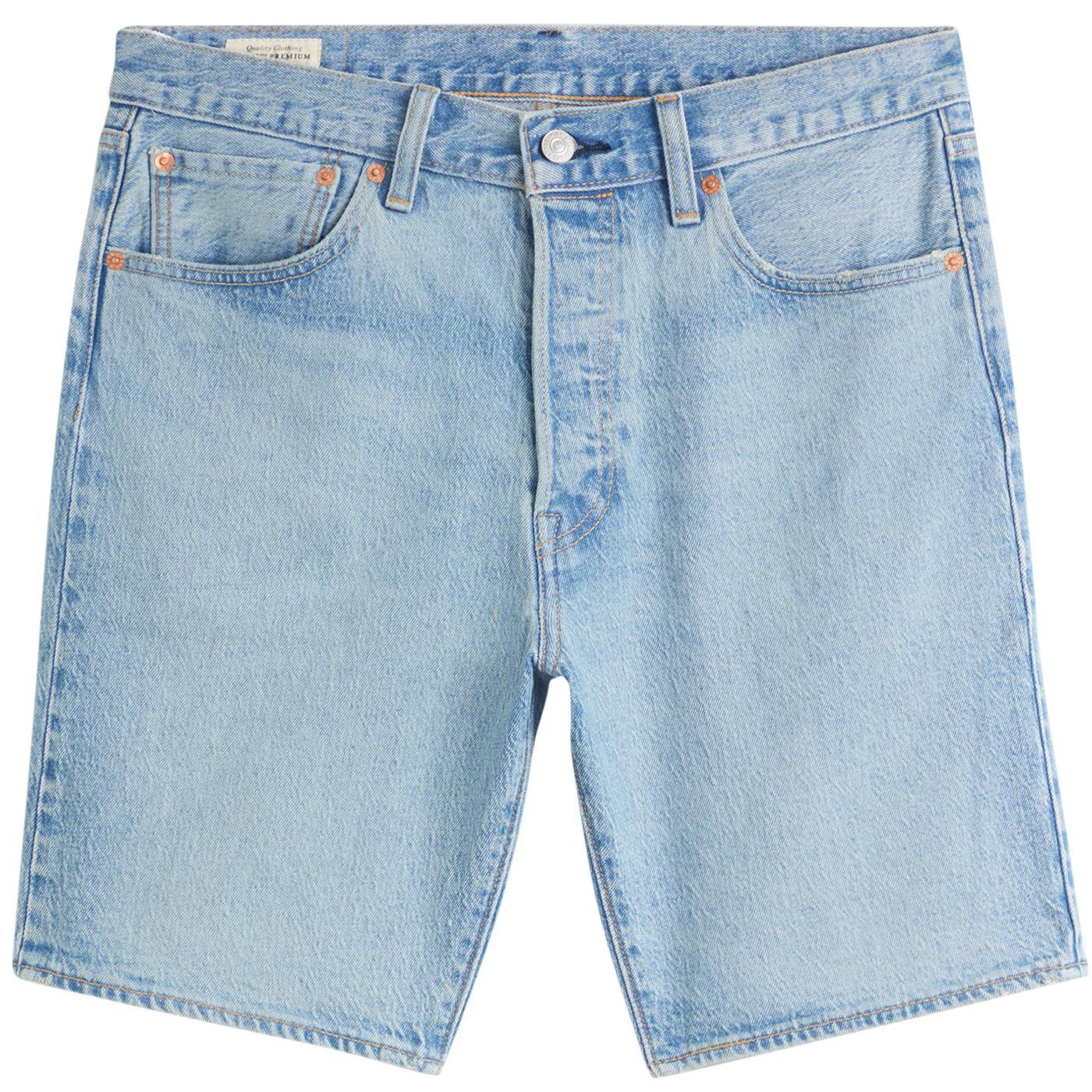 LEVI'S 501 Denim Hemmed Shorts (Mountain Life)