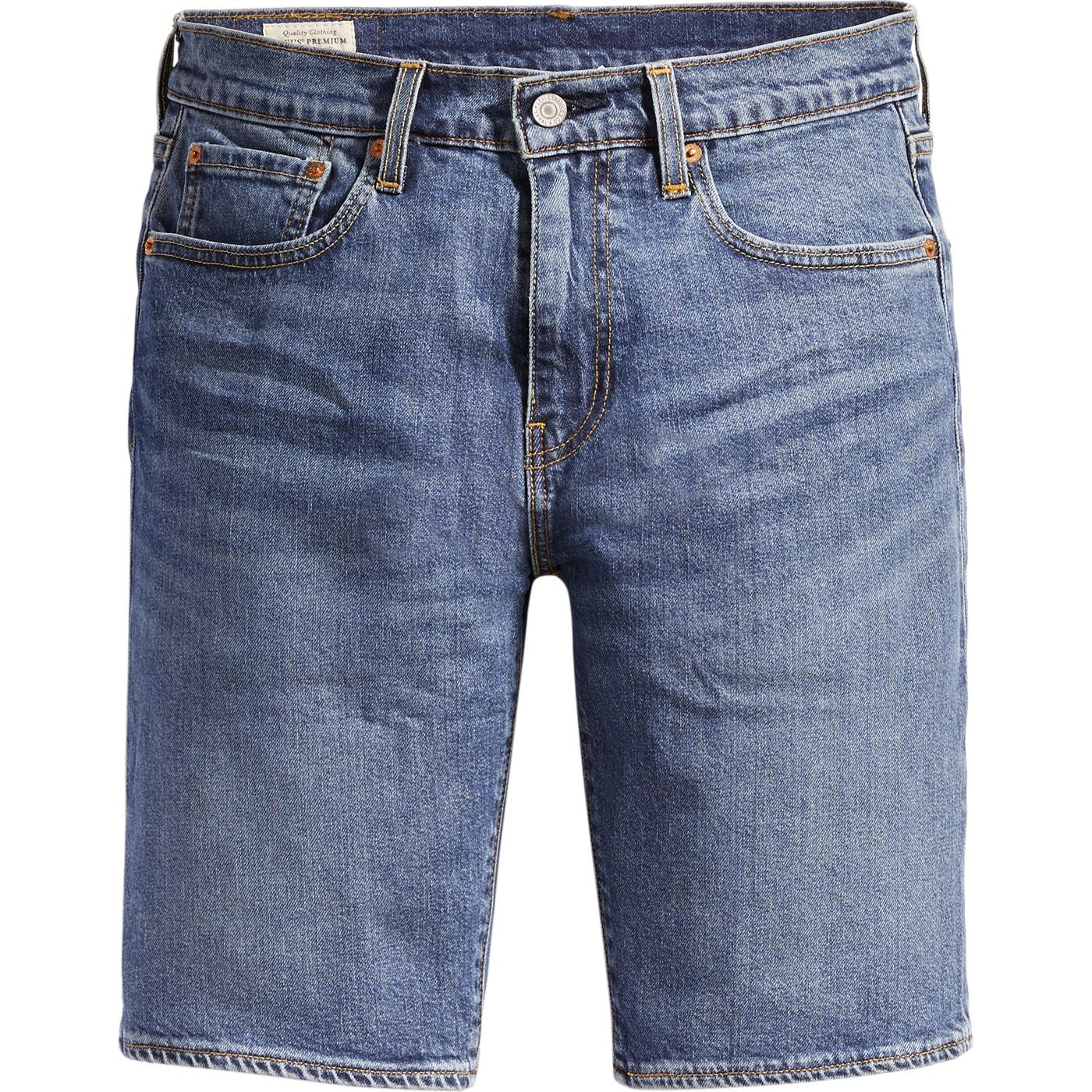 LEVI'S 502 Taper Denim Hemmed Shorts (MT Home Adv)