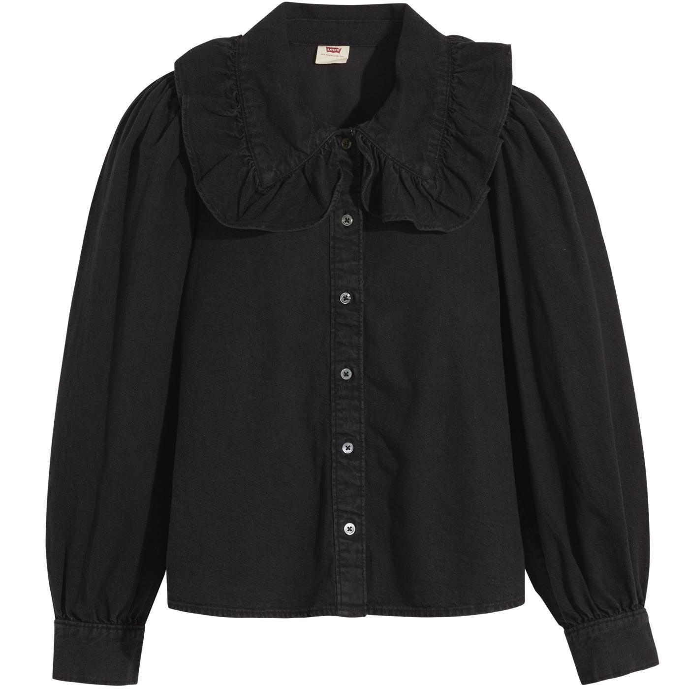 Emilie LEVI'S Retro 70s Frill Collar Shirt