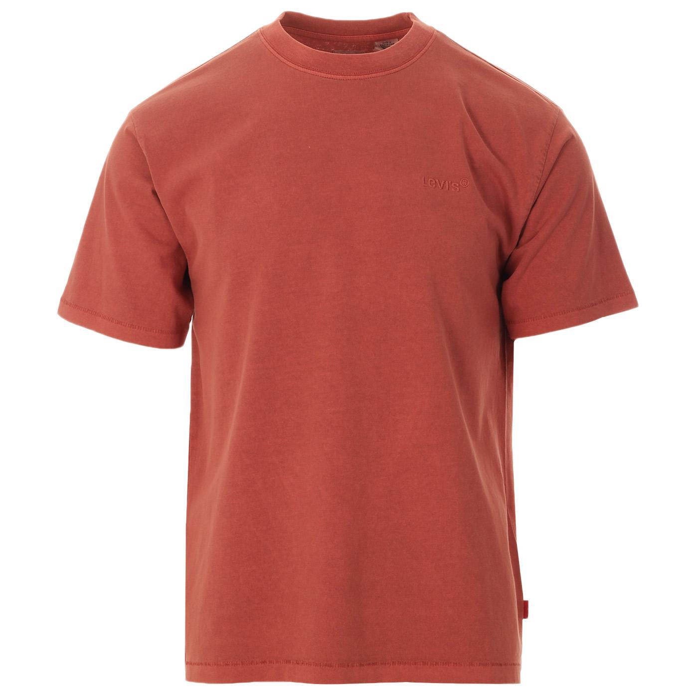 LEVI'S Red Tab Vintage Garment Dyed Tee (Marsala)