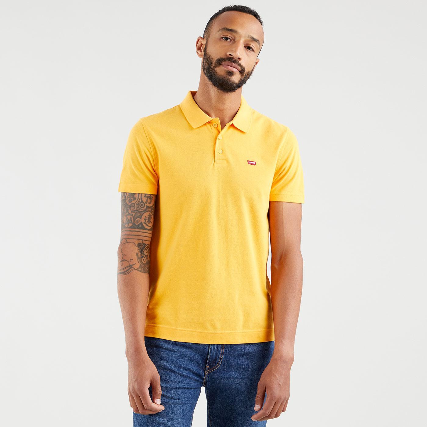LEVI'S O.G. Batwing Mod Polo Shirt (Kumquat)