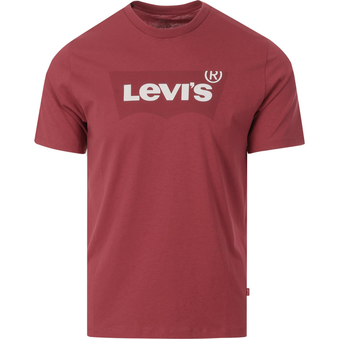 LEVI'S Men's Housemark Logo Graphic T-Shirt RED