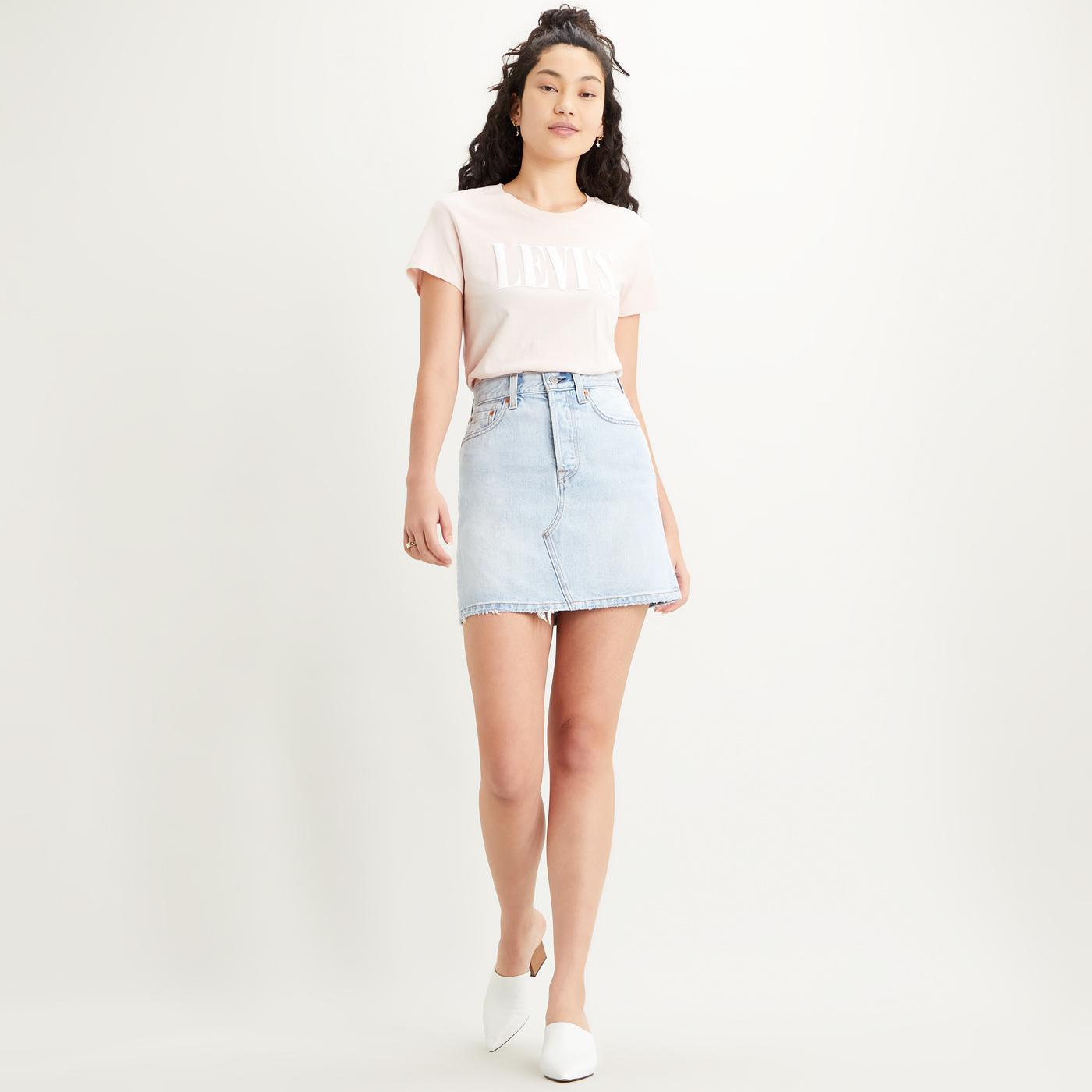 LEVI'S HR Decon Iconic Bfly Skirt (Check Ya Later)