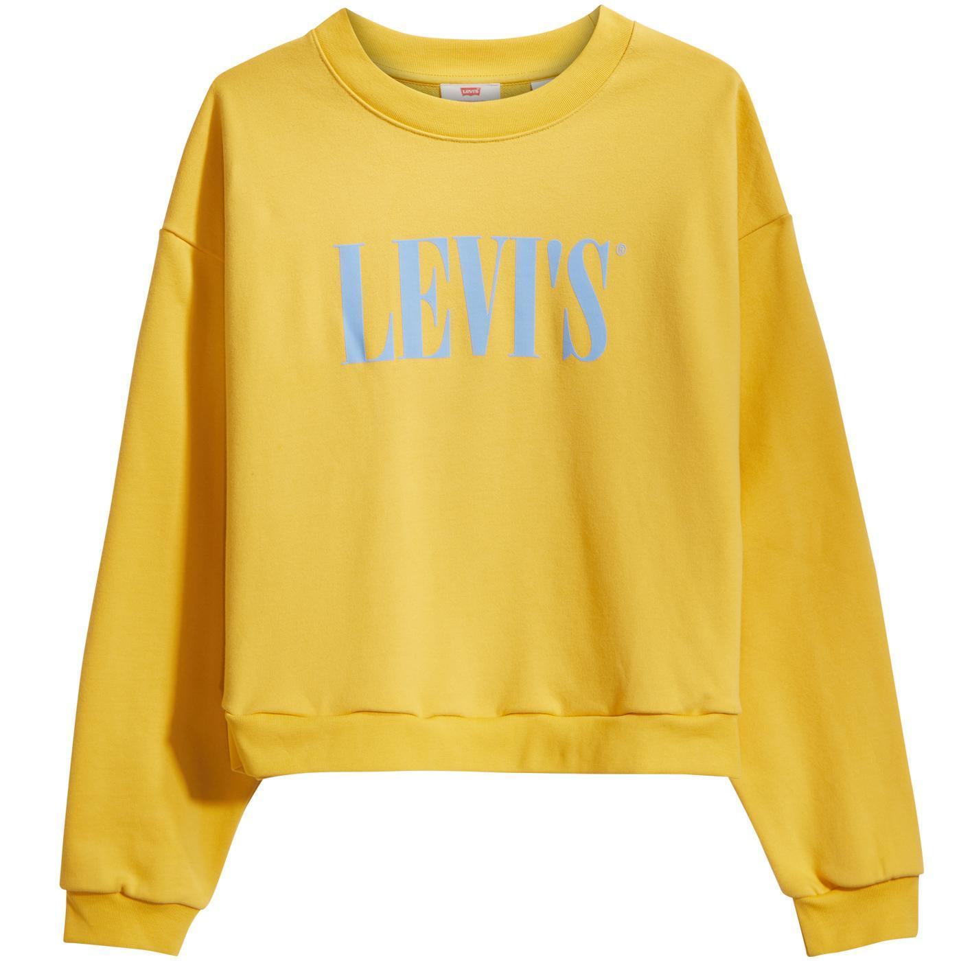 Graphic Diana LEVI'S Serif Logo Retro Sweatshirt G
