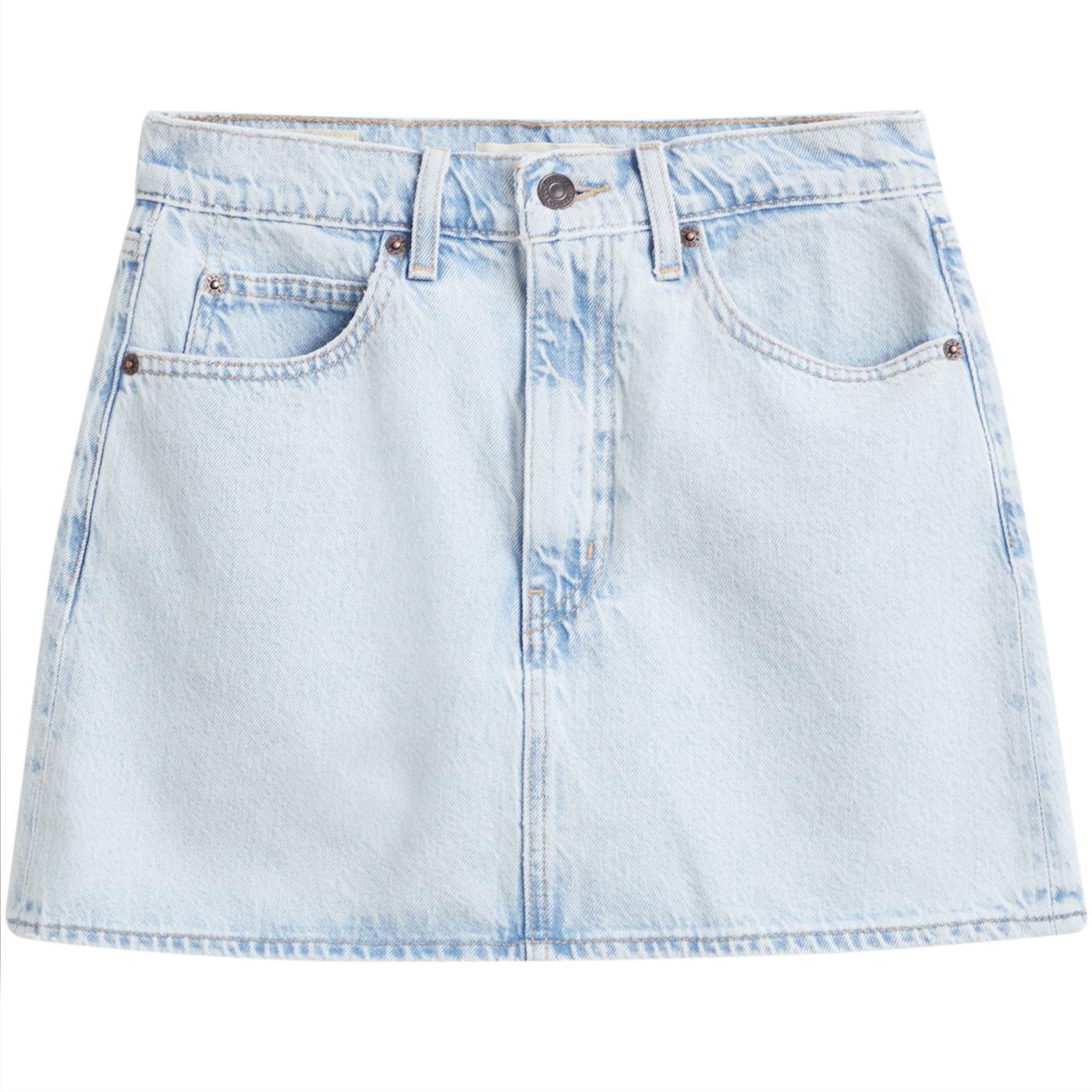 LEVI'S 70s High Retro Micro Mini Skirt HEY DARLING