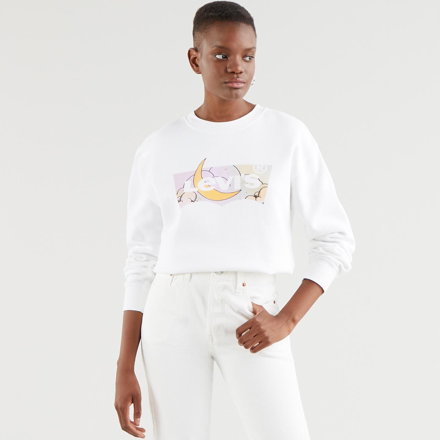 LEVI'S Women's Dreamy Fill Batwing Sweatshirt