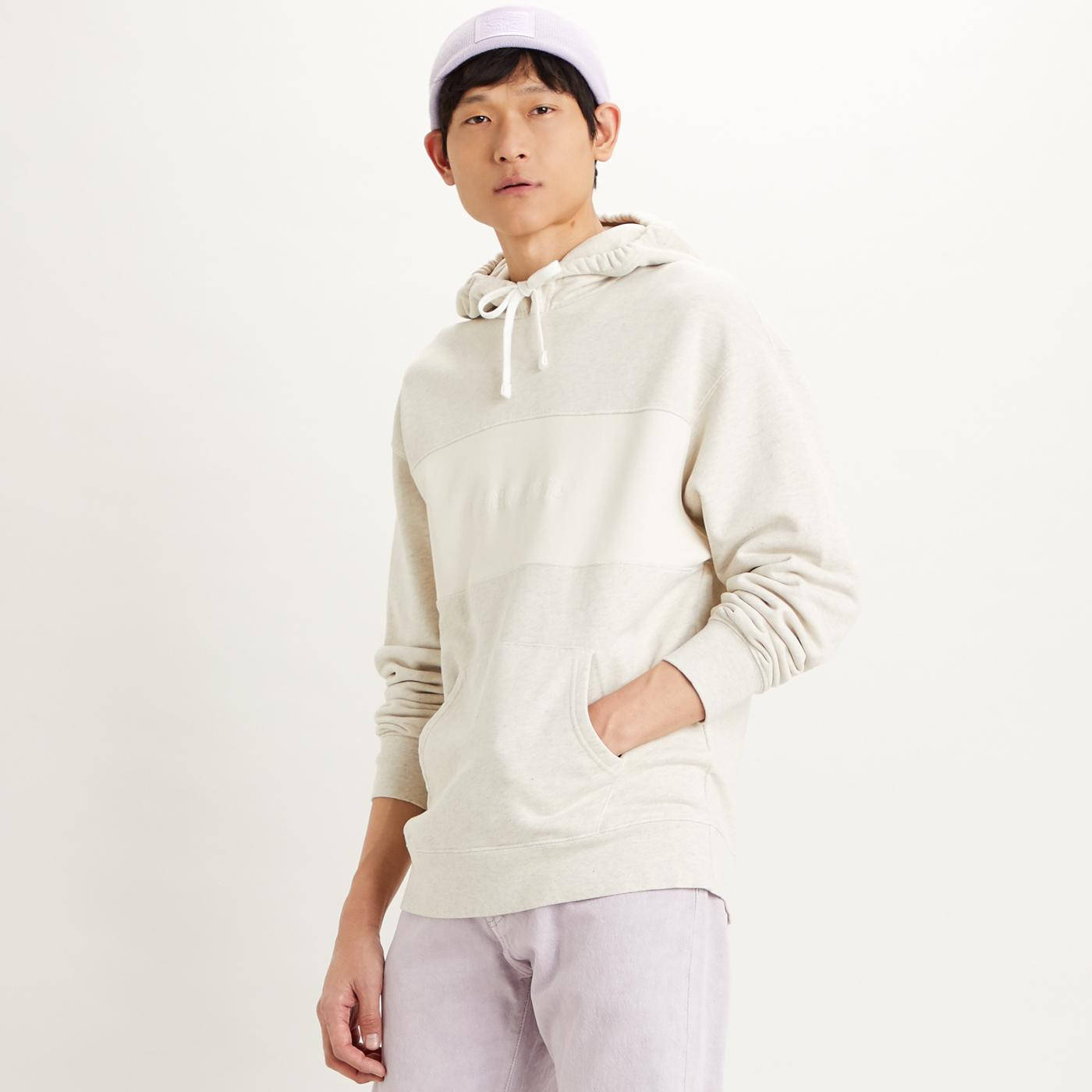 LEVI'S Men's Relaxed Fit Retro Novelty Hoodie (N)