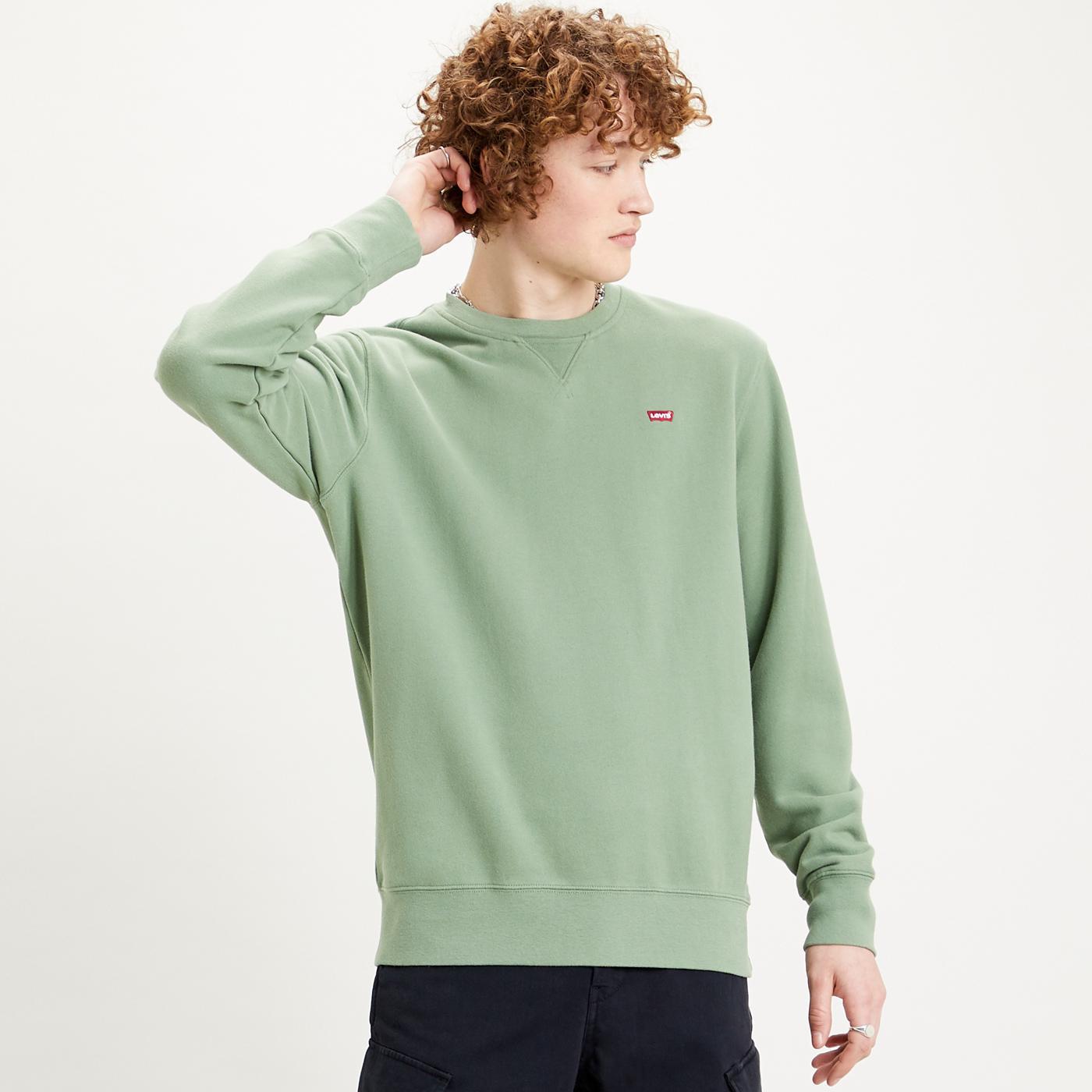LEVI'S Men's Original Retro Crew Sweatshirt (HG)