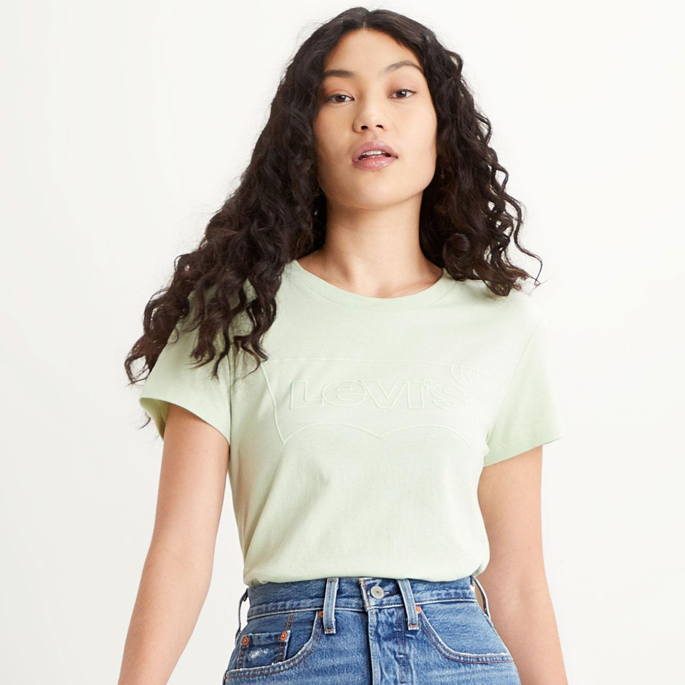 LEVI'S Perfect Women's Batwing Outline Tee (BC)