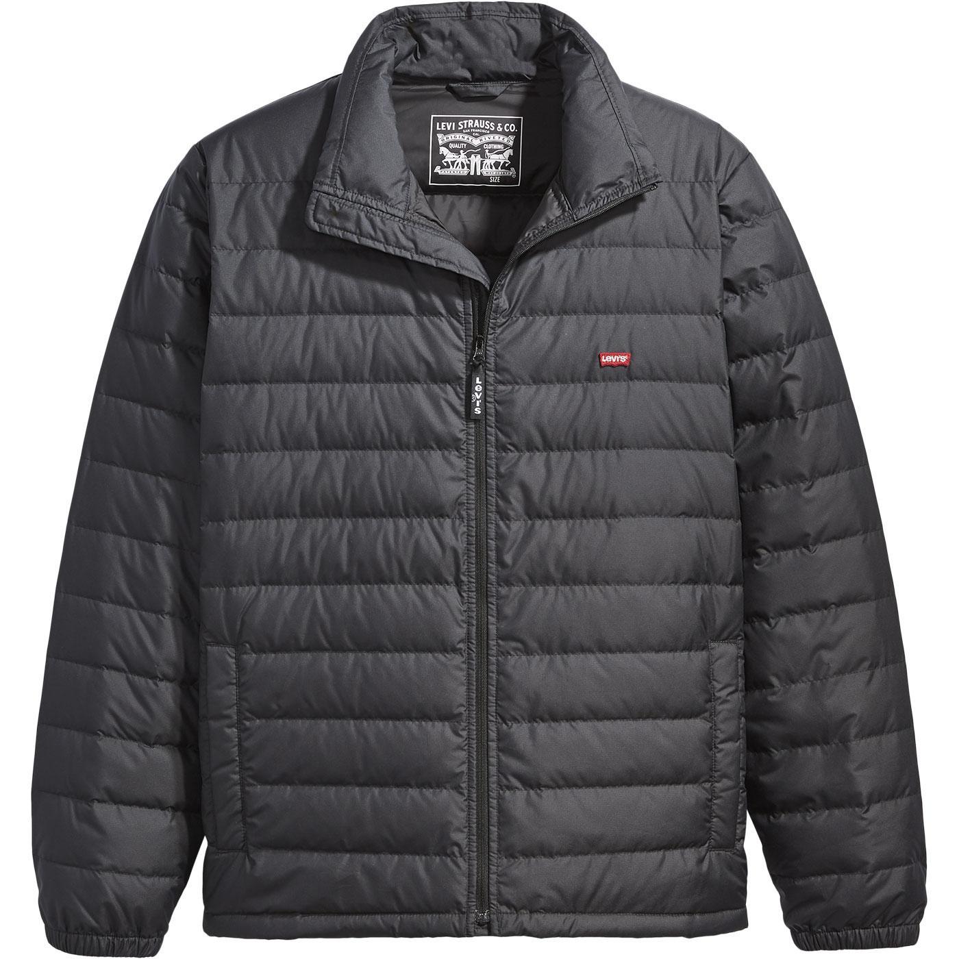 LEVI'S Down Dehon Puffer Jacket - Mineral Black