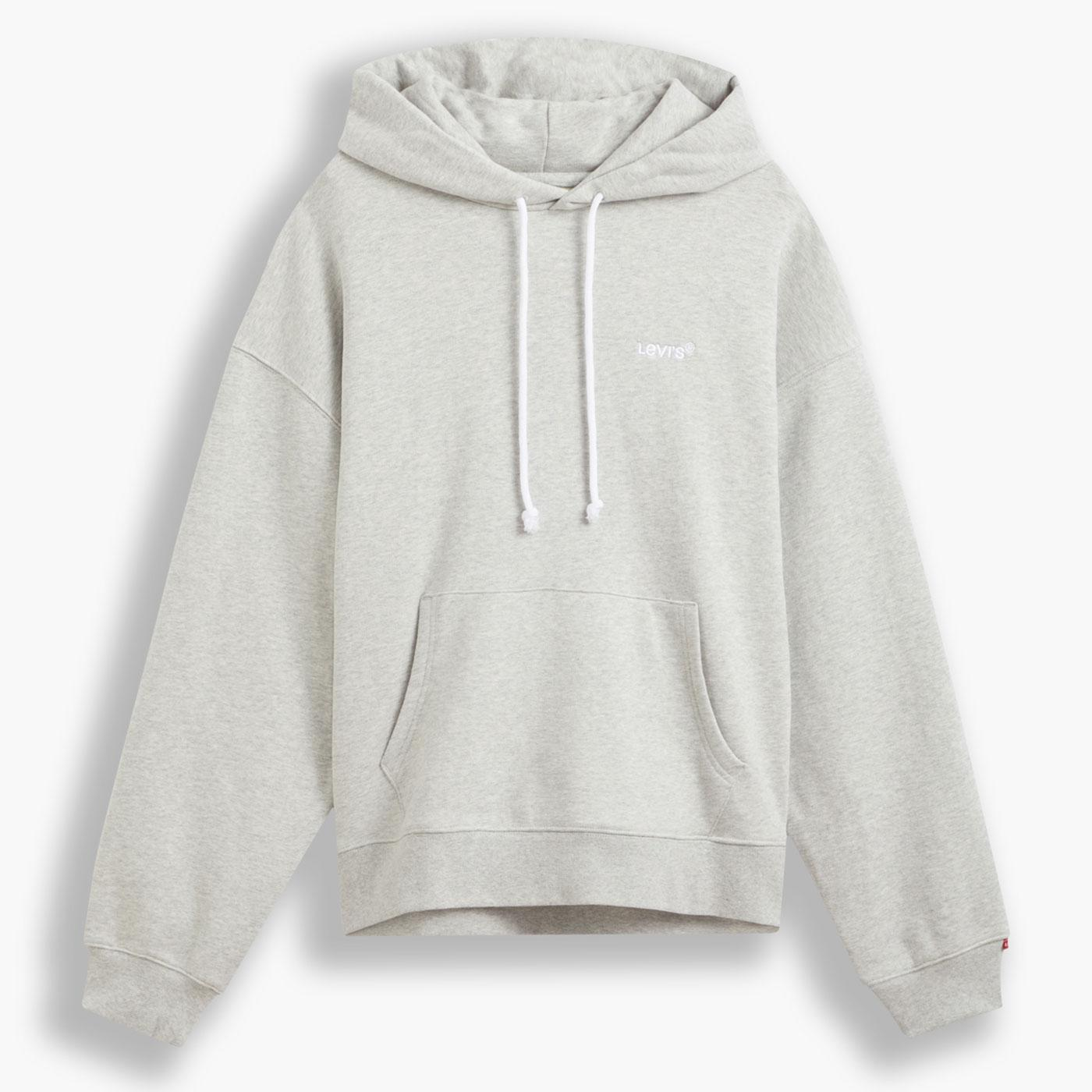 LEVI'S Red Tab Relaxed Fit Hoodie (Light Mist)