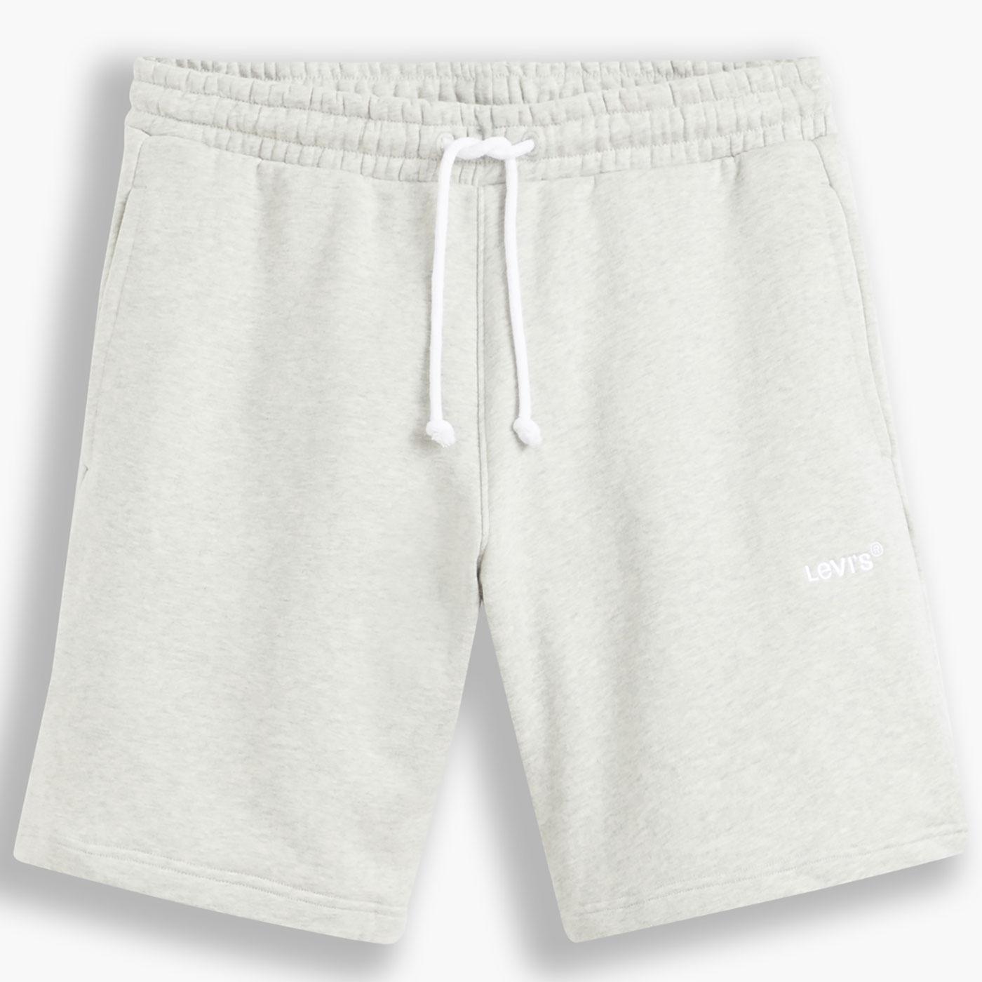 LEVI'S Red Tab Sweat Shorts (Light Mist Heather)