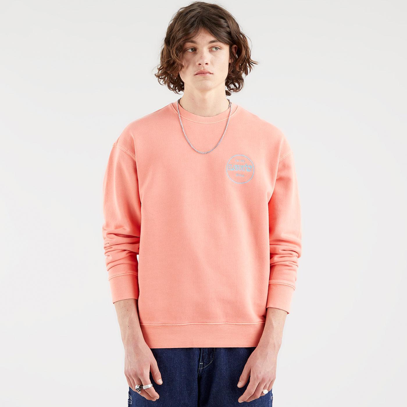 LEVI'S Relaxed T2 Graphic Crew Sweatshirt (CQ)