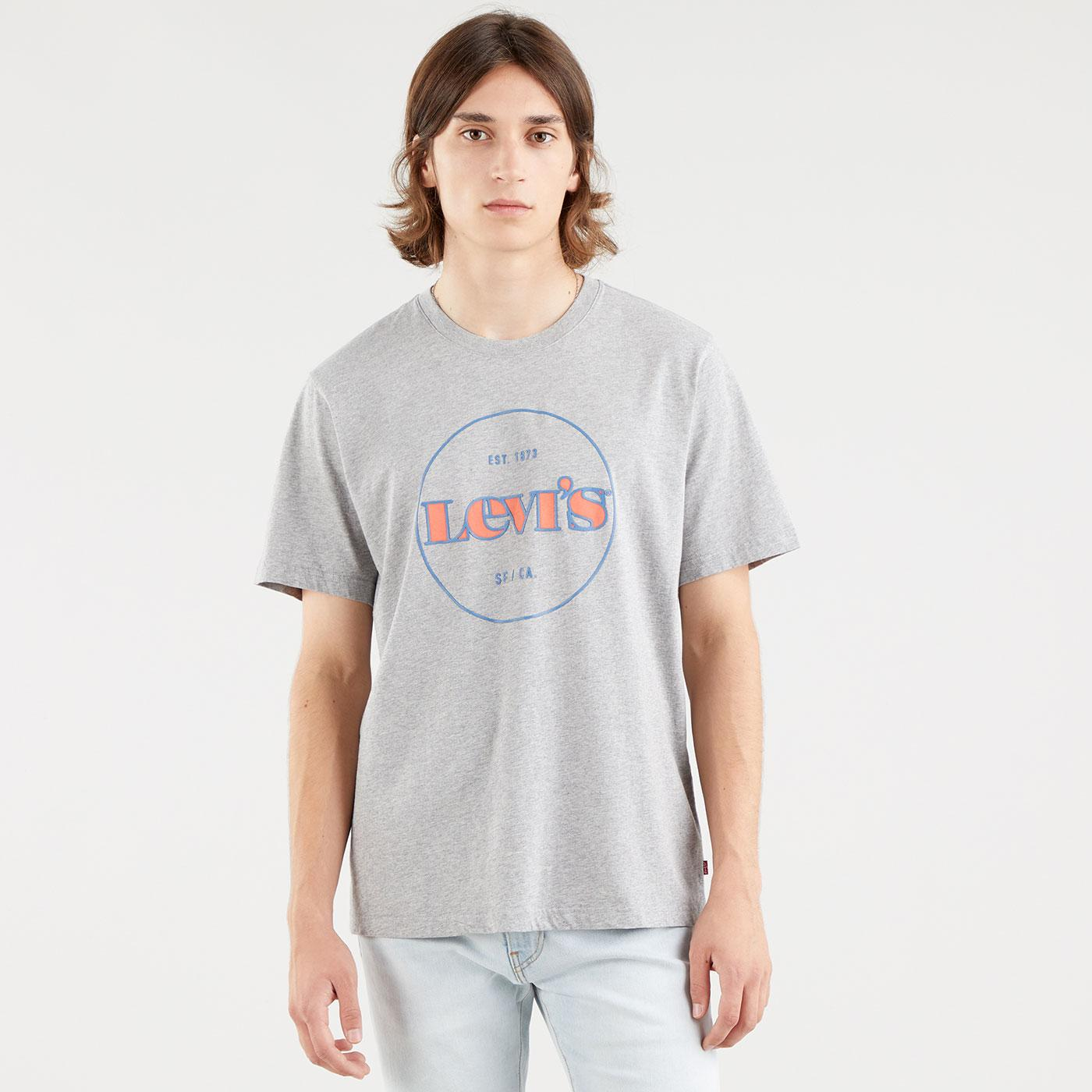 LEVI'S Relaxed Fit Vintage Embossed Print Tee (G)