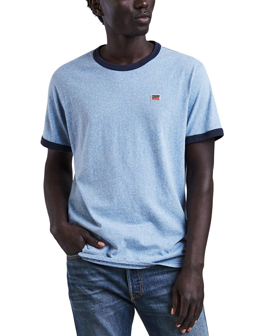 Bernel LEVI'S Retro Indie Ringer T-shirt ALLURE
