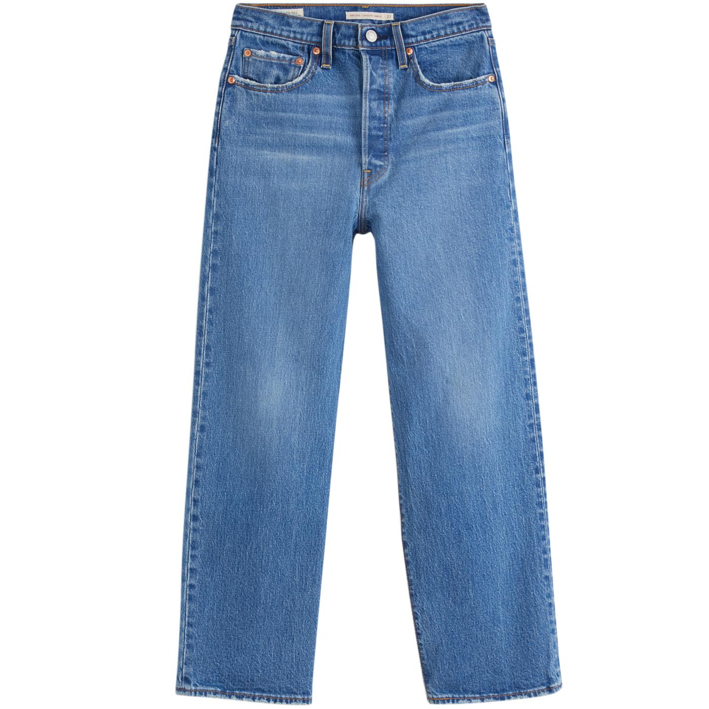 LEVI'S Ribcage Women's Straight High Rise Jeans JT