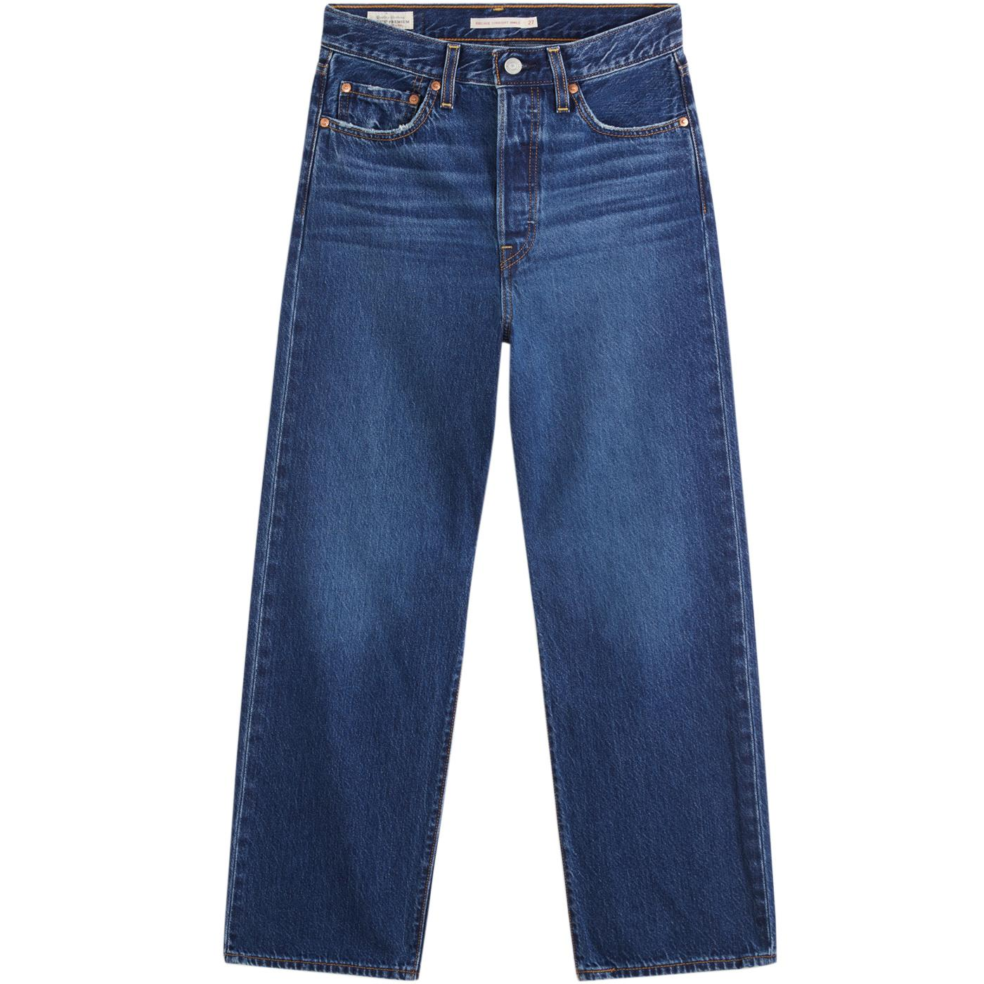 LEVI'S Ribcage Women's Straight High Rise Jeans ND