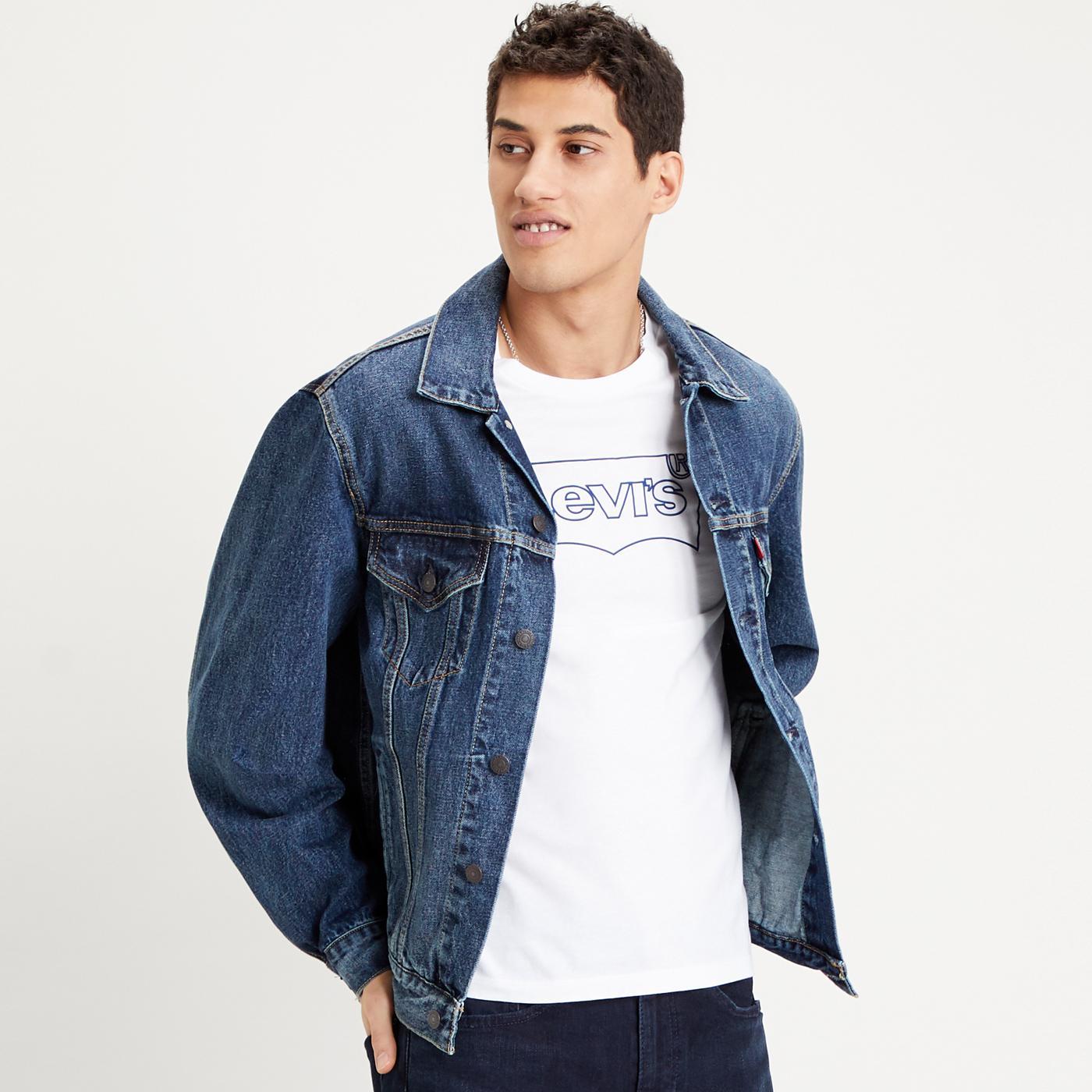 LEVI'S Vintage Fit Roamer Trucker Jacket (DB)