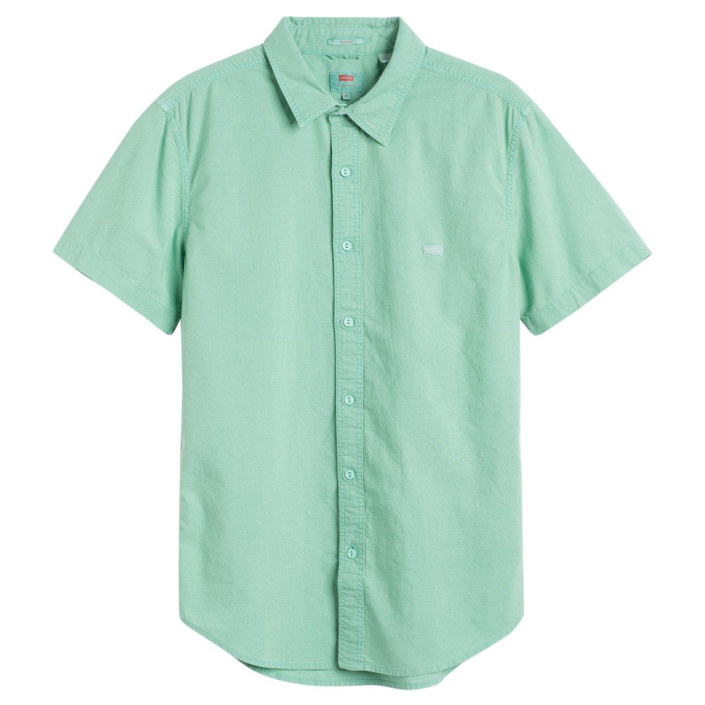 LEVI'S SS Battery HM Retro shirt (Creme de Menthe)