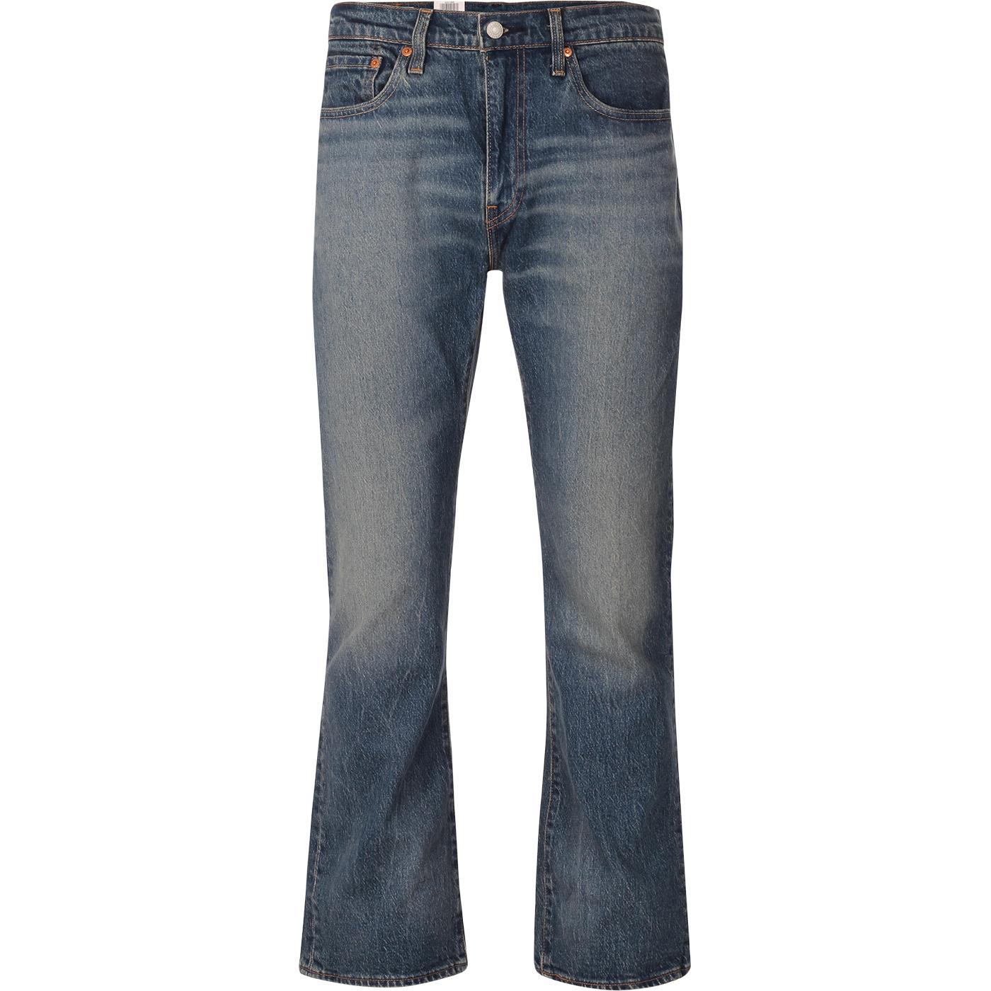 LEVI'S 527 Retro Slim Bootcut Jeans (Squash Train)